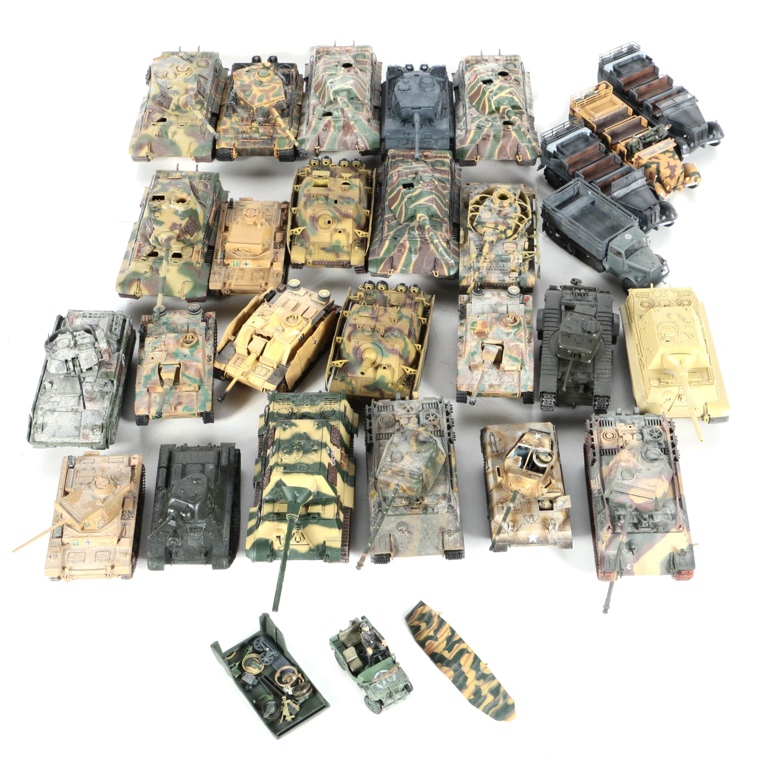 21st Century Toys Military Vehicles