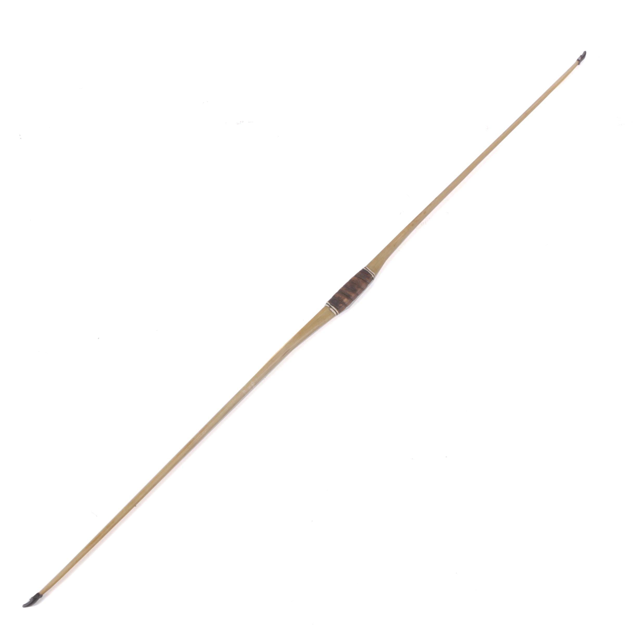 Fiberglass Longbow with Nocks