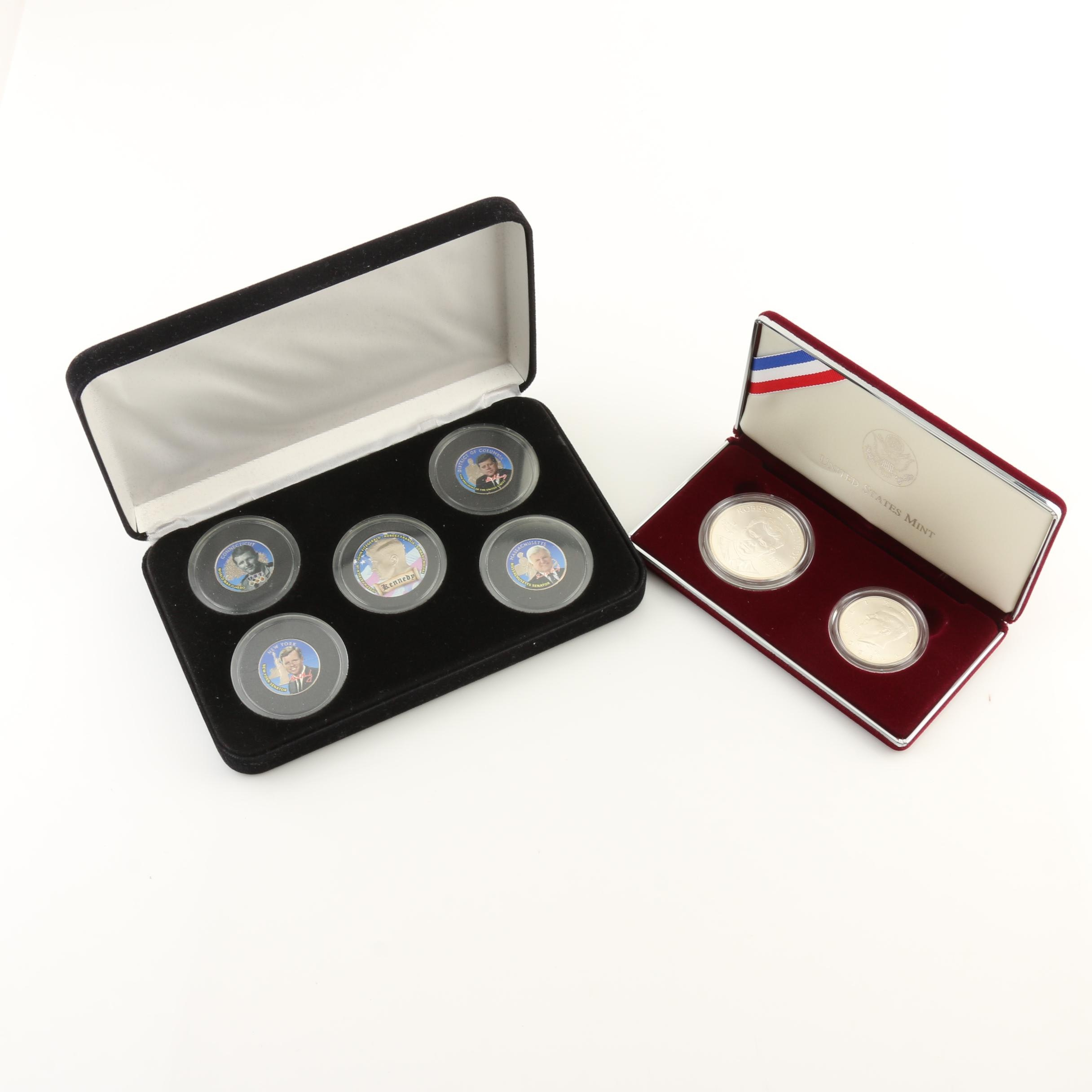 Two Kennedy-Related Coin Sets
