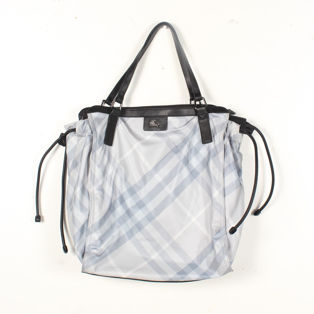 Burberry Buckleigh Packable Nylon Tote Bag
