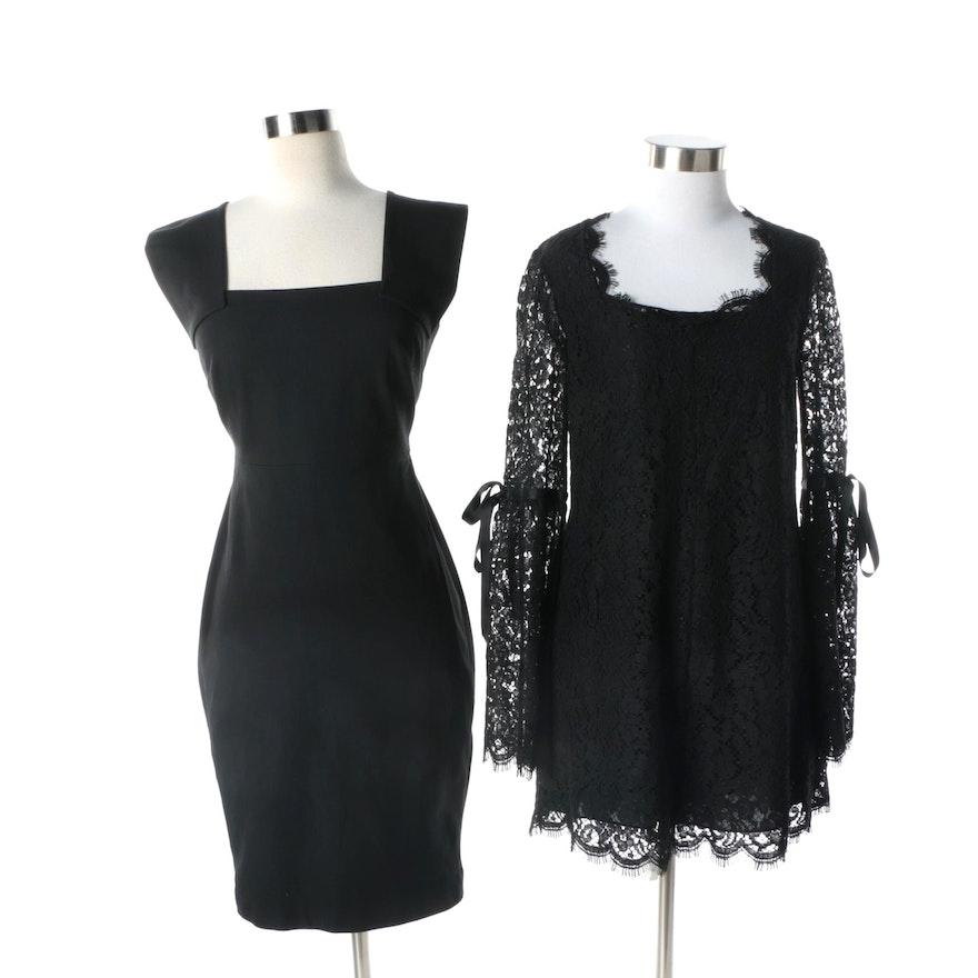 3a88aea21a3 Rachel Zoe Black Lace Romper and Roland Mouret for Banana Republic Black  Dress   EBTH