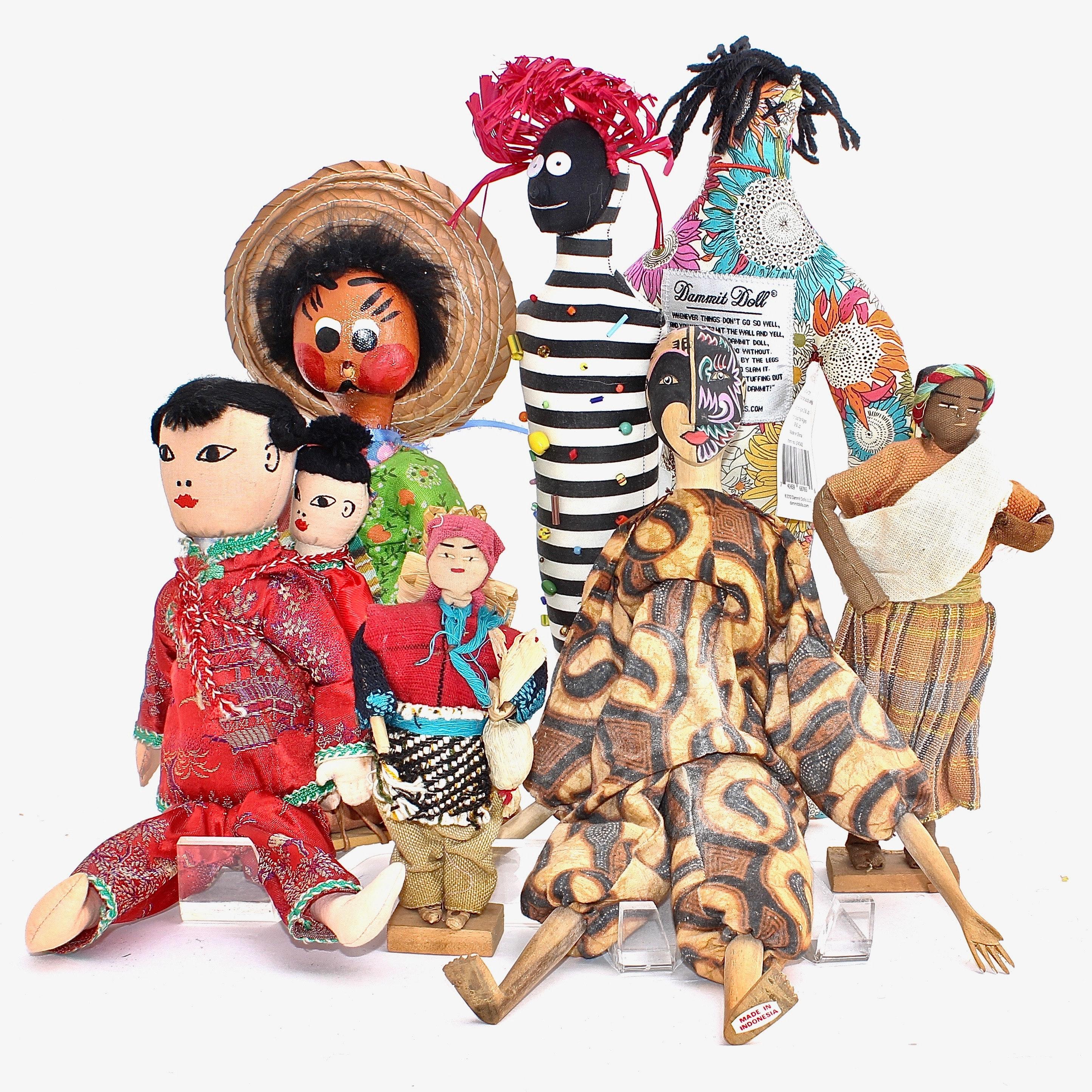 Handmade Folk and Cloth Dolls