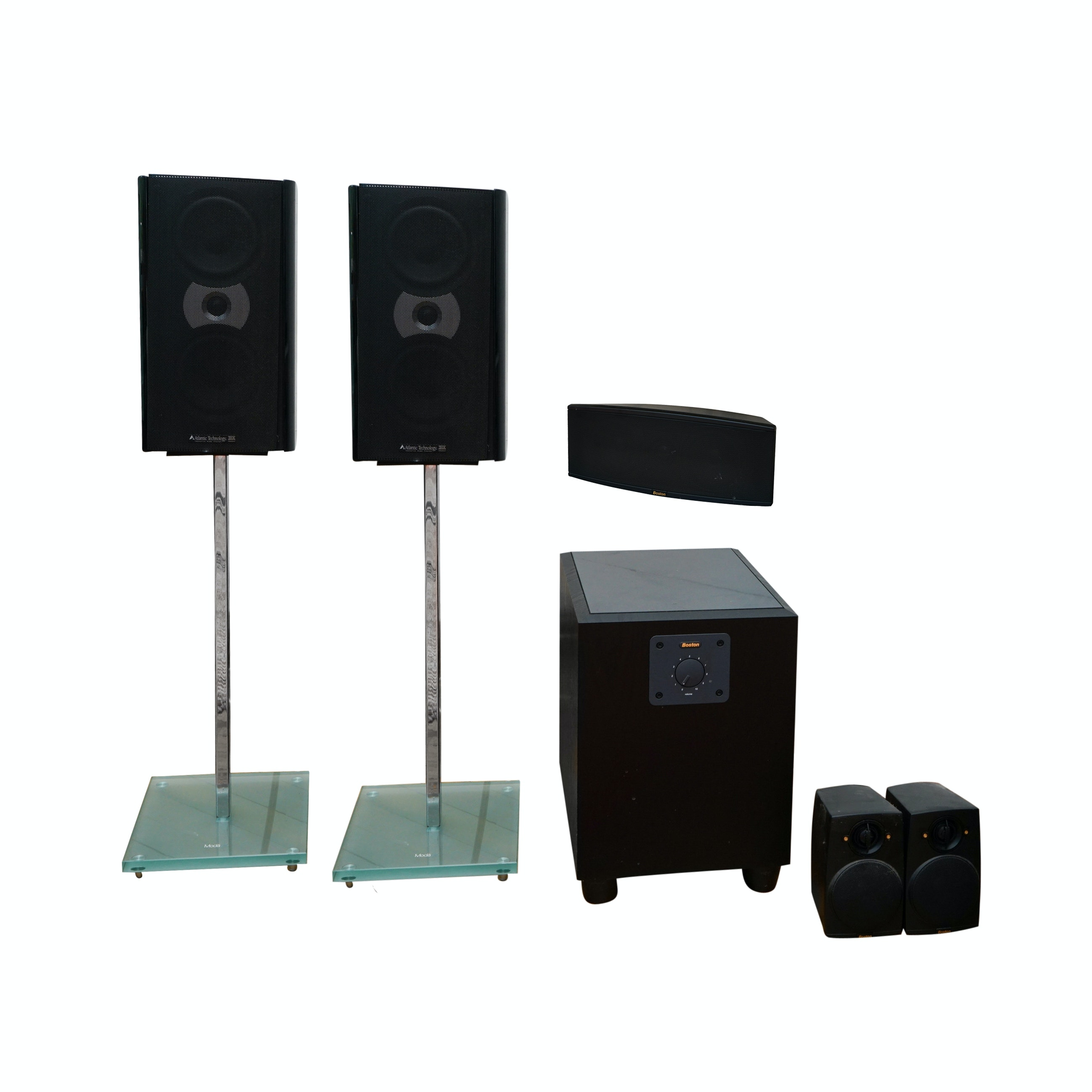 Surround Sound System Including Boston and Atlantic Technology