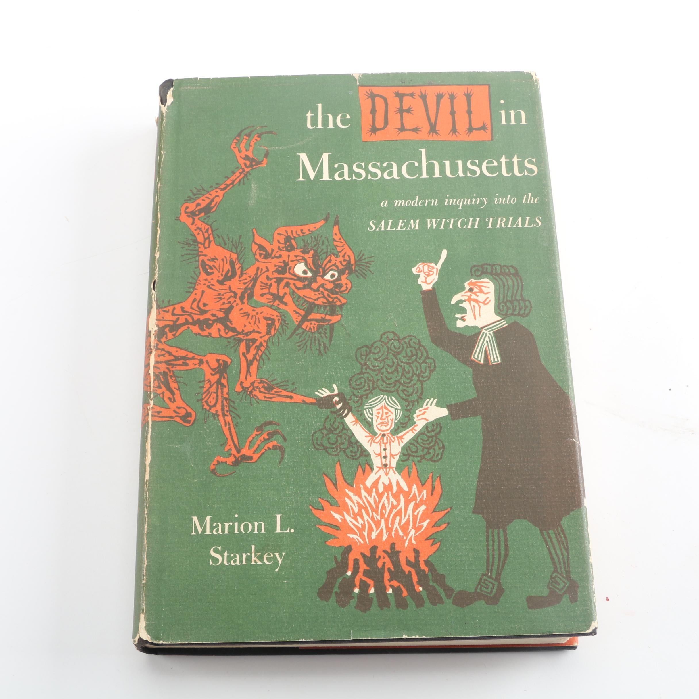 "1949 First Edition ""The Devil in Massachusetts"" by Marion L. Starkey"