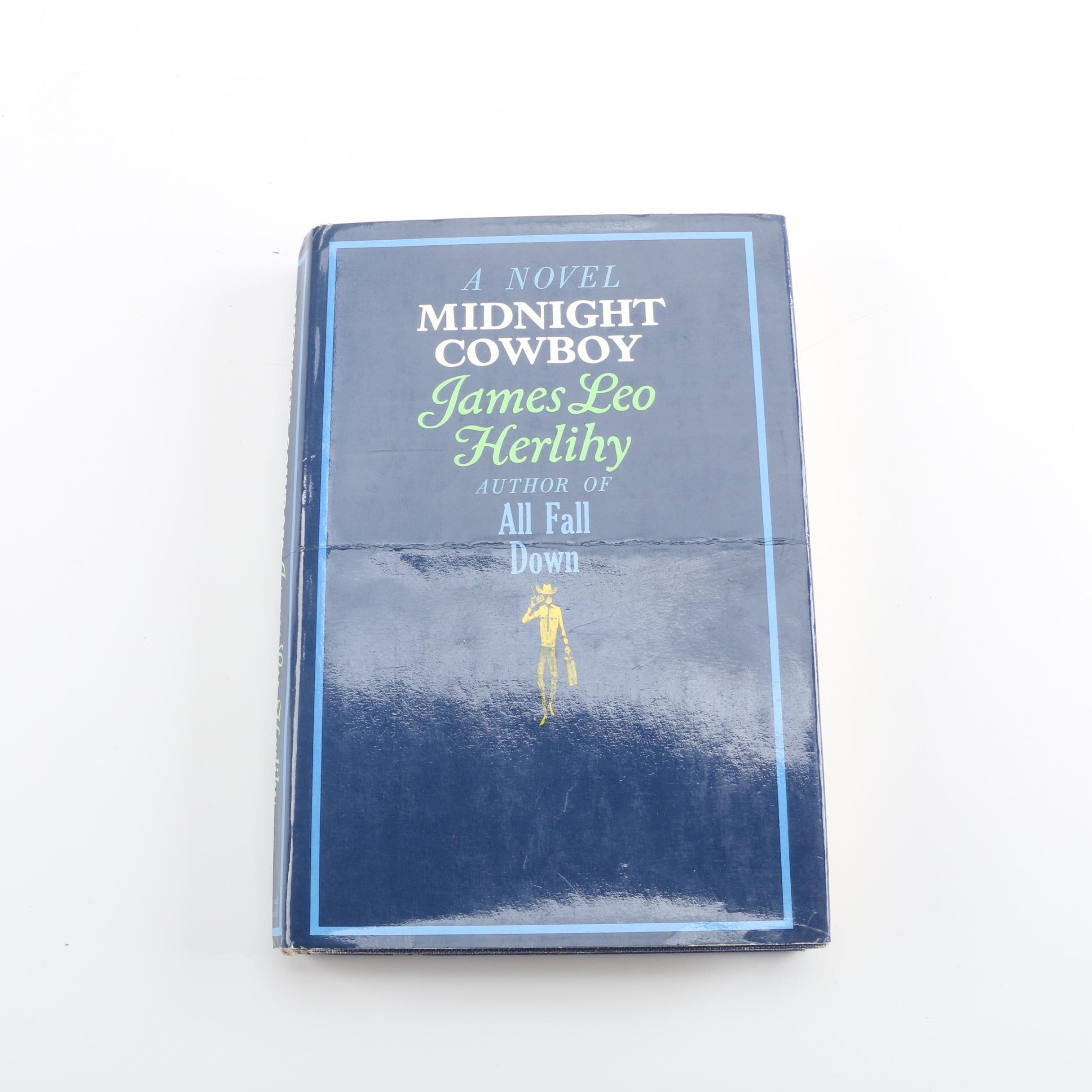 "1965 First Edition ""Midnight Cowboy"" by James Leo Herlihy"