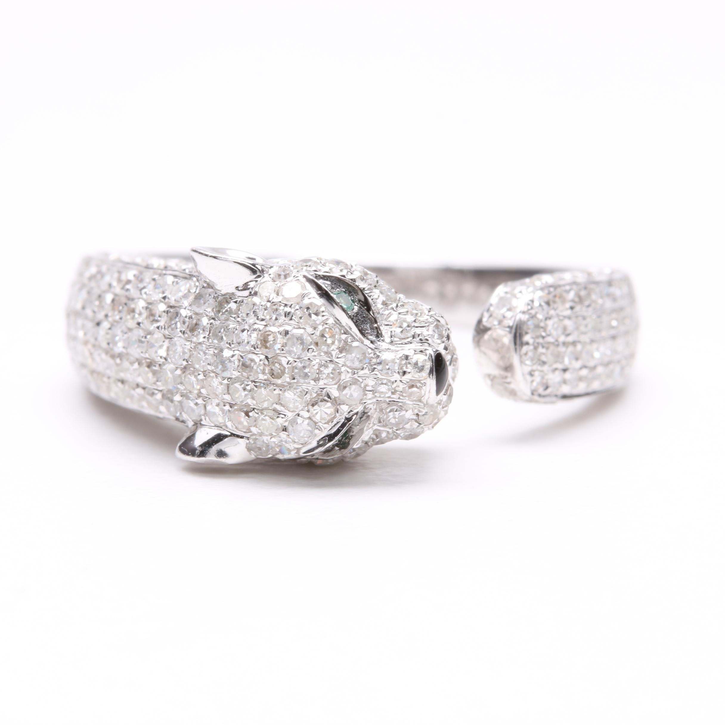 18K White Gold 1.23 CTW Diamond Ring