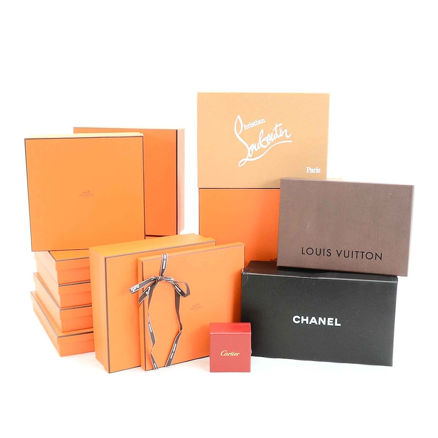 3bbadb53c7f8 Designer Boxes Including Hermes, Louis Vutton, Chanel and More | EBTH