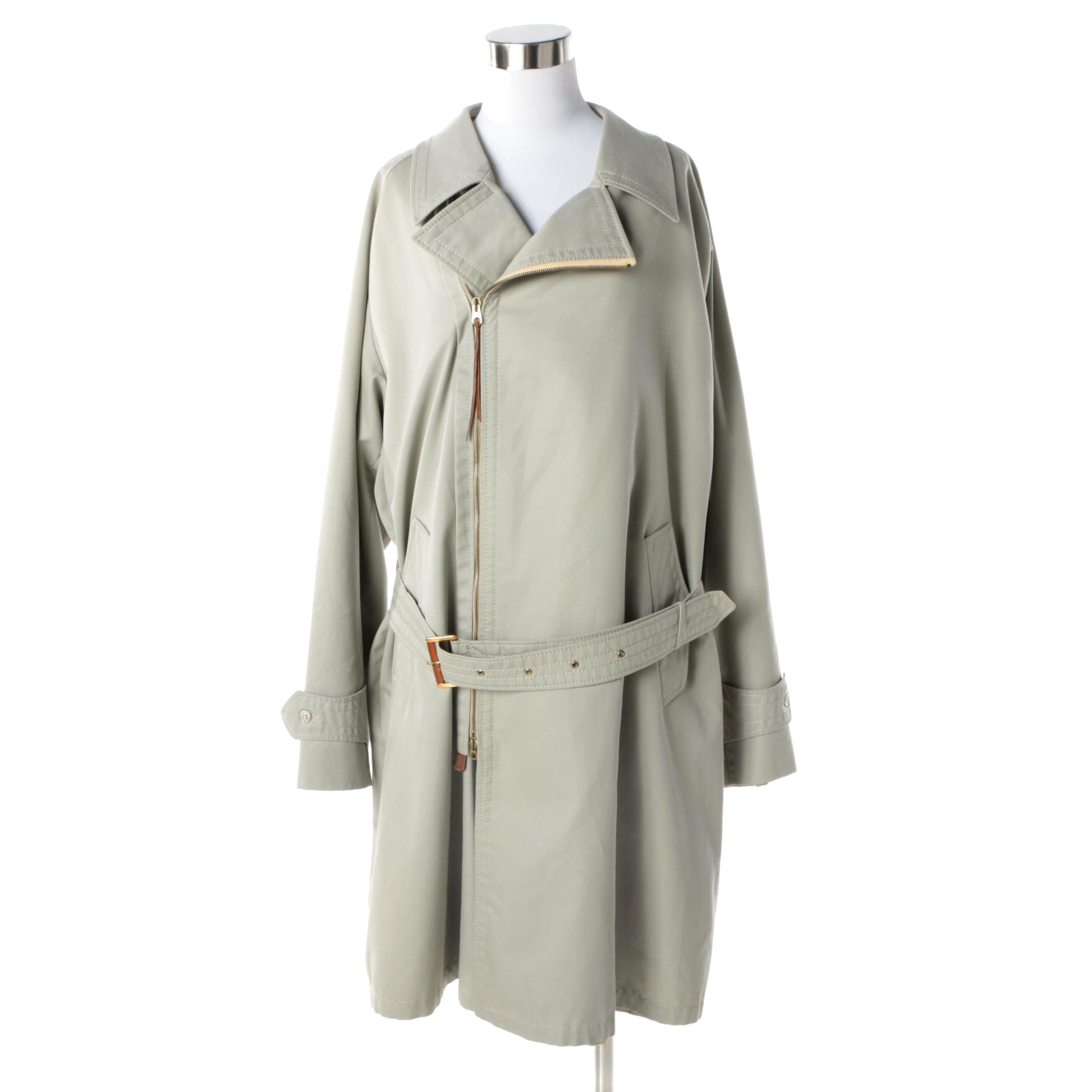 1980s Vintage Pierre Cardin Trench Coat