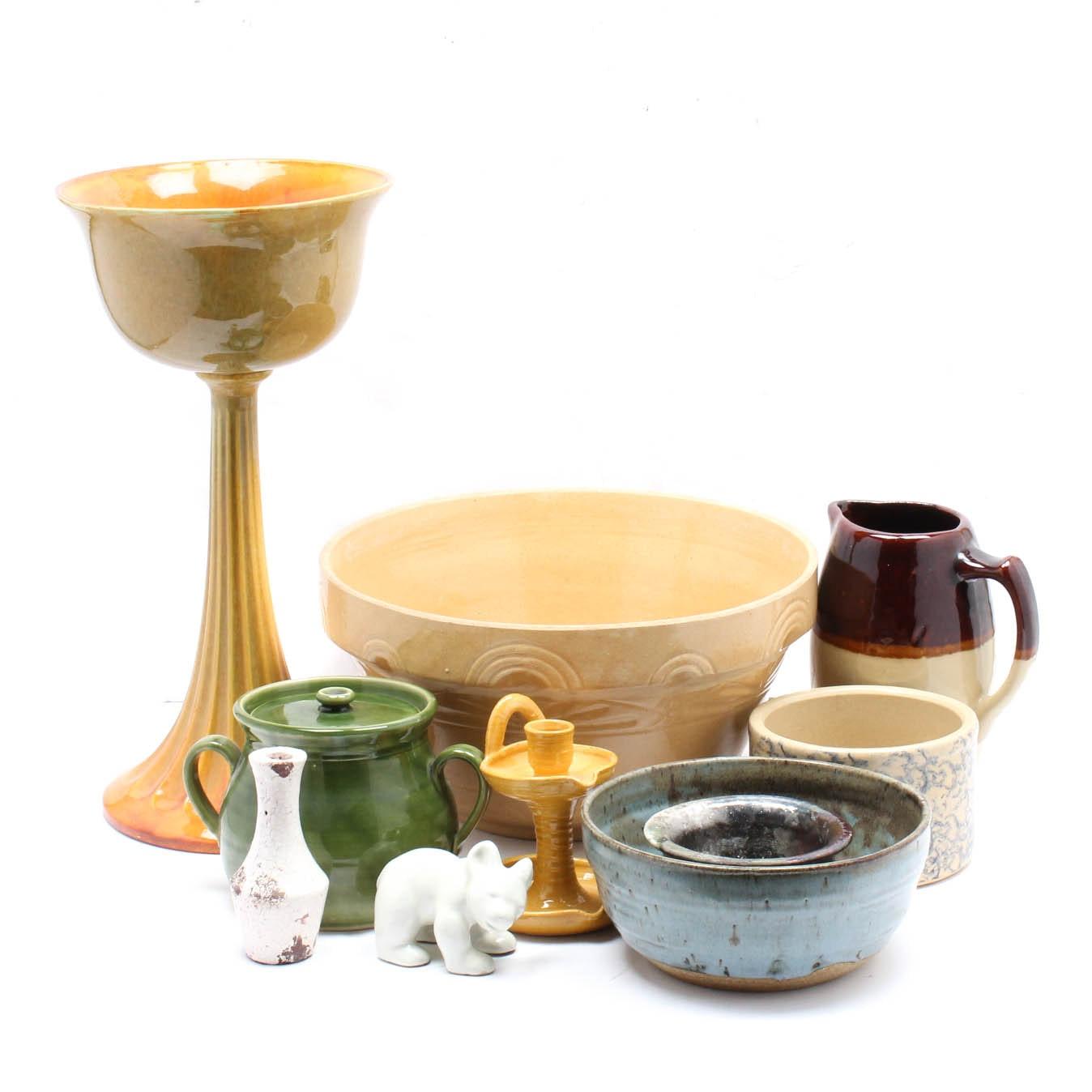 Art Pottery Decor Featuring Haeger