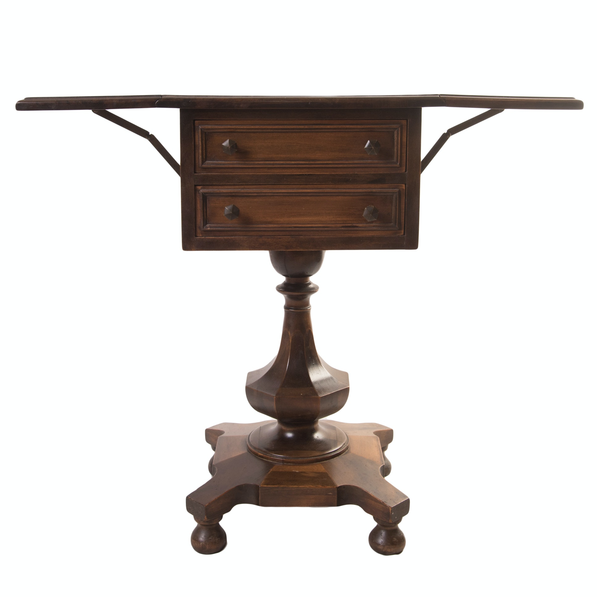 Antique Empire Style Sewing Stand