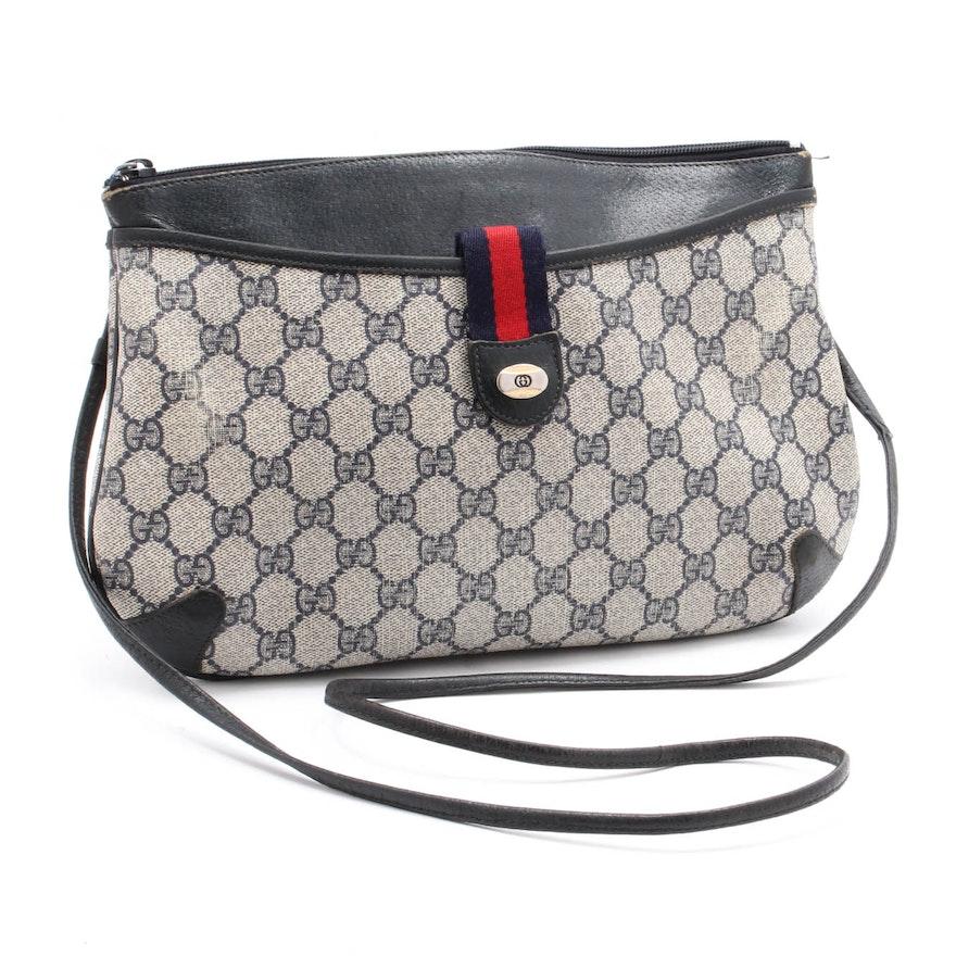 921fde32162 Vintage Gucci Leather Shoulder Bag   EBTH