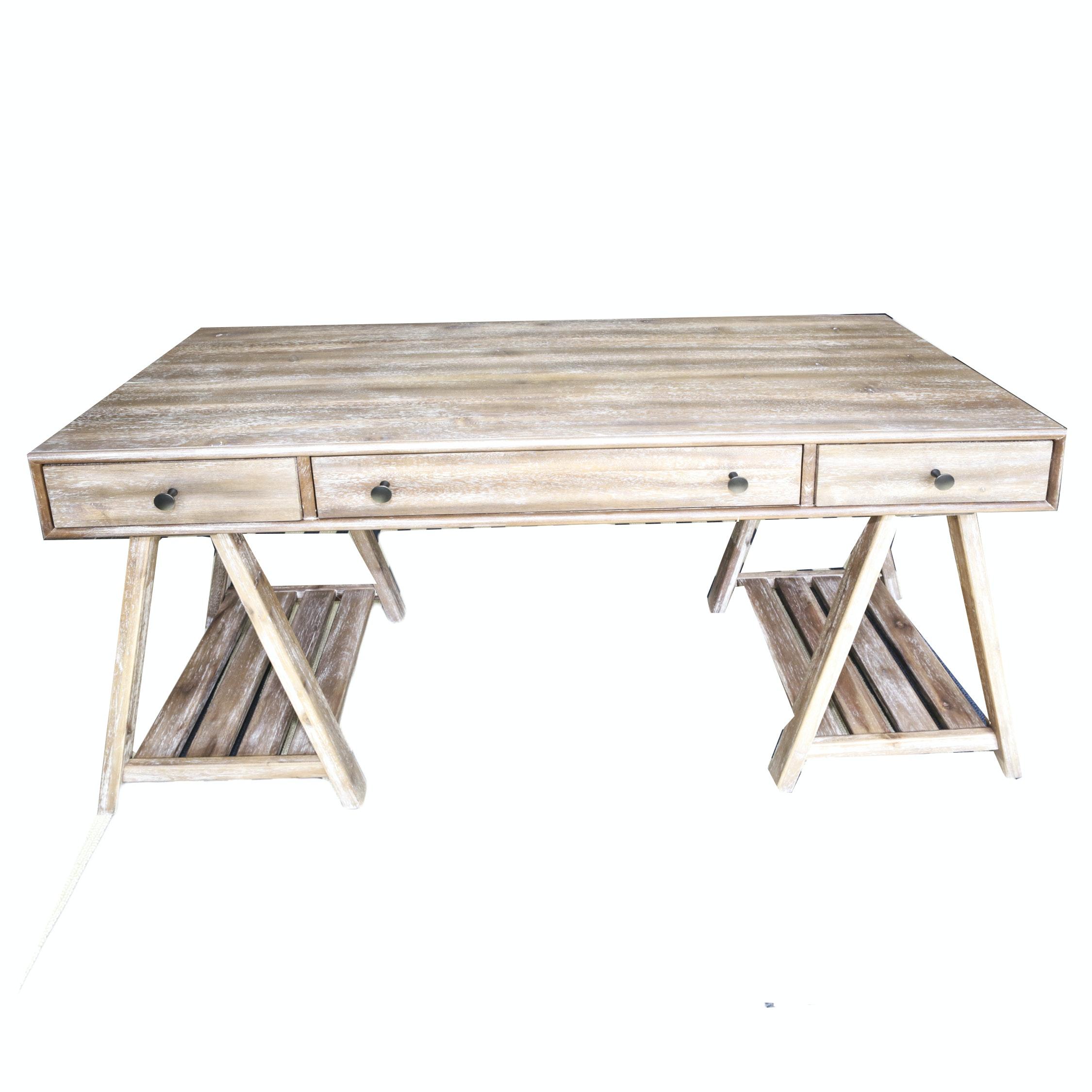 Rustic Style Desk by Hooker Furniture