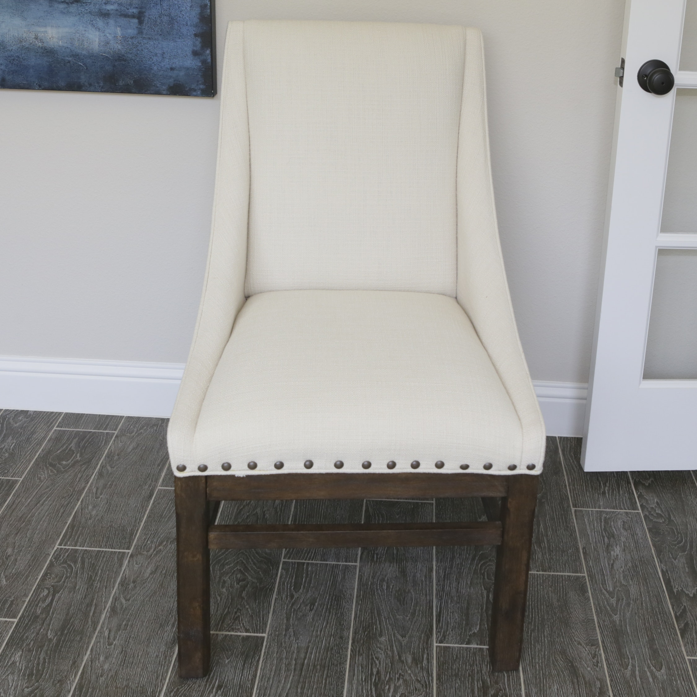 Contemporary Upholstered Side Chair
