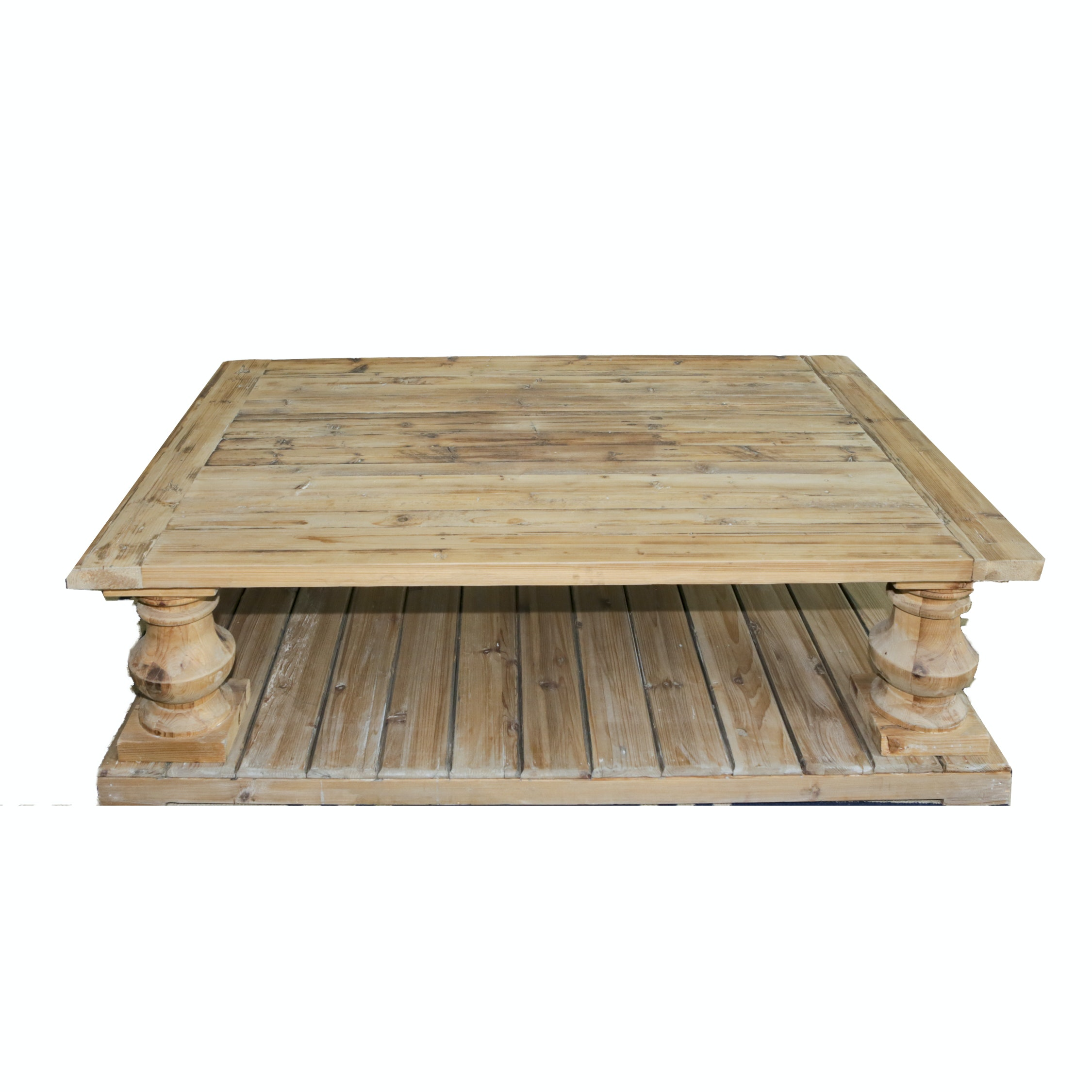 Rustic Style Pine Coffee Table