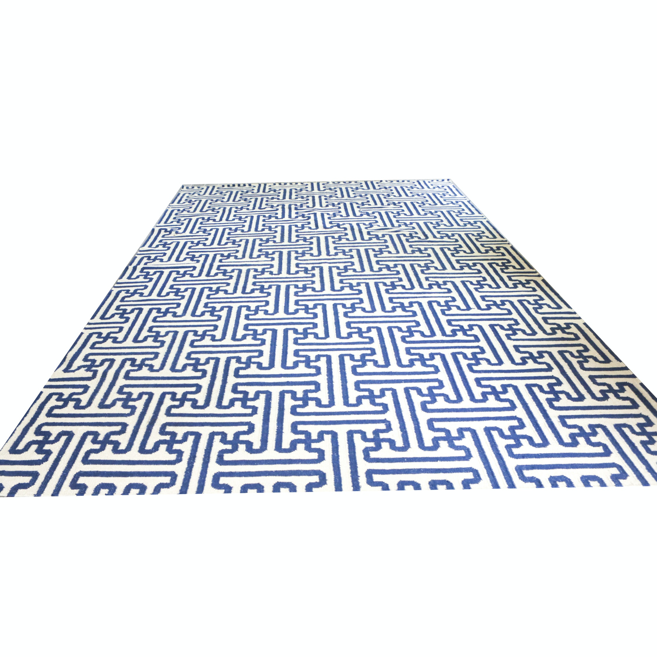 Machine Woven Contemporary Wool Room Sized Rug