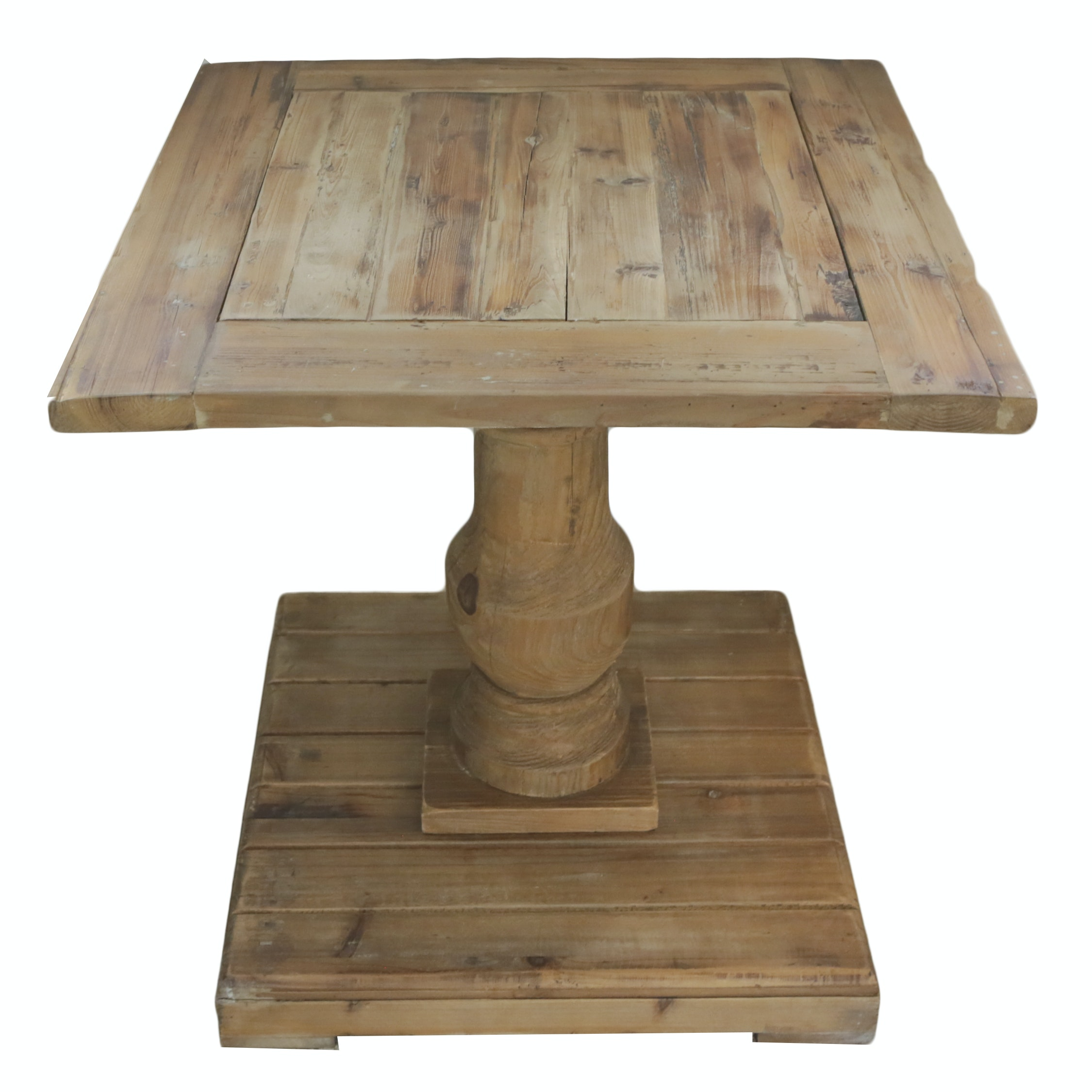 Rustic Style Pine Accent Table