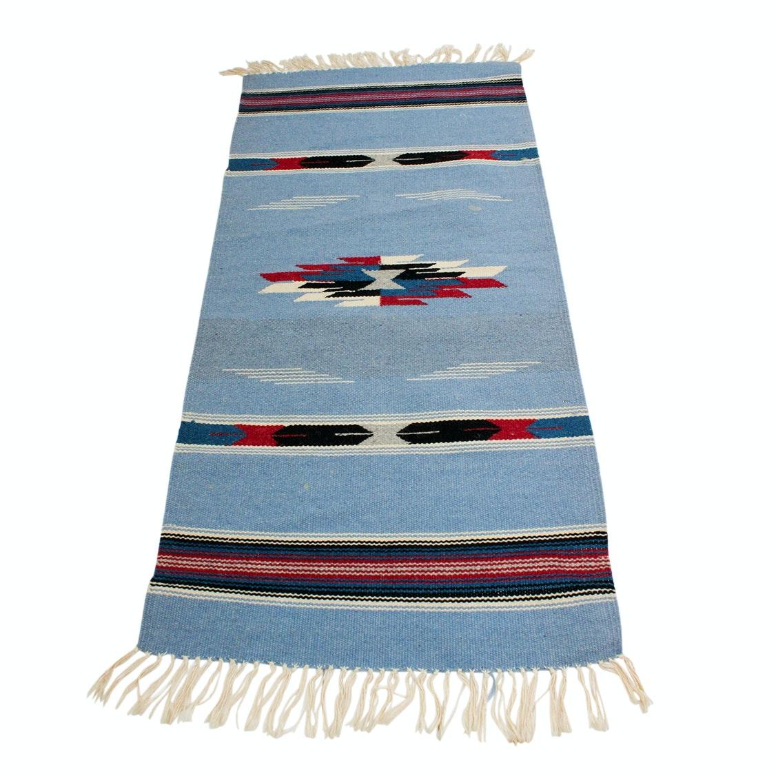 Antique Handwoven Wool Saddle Blanket