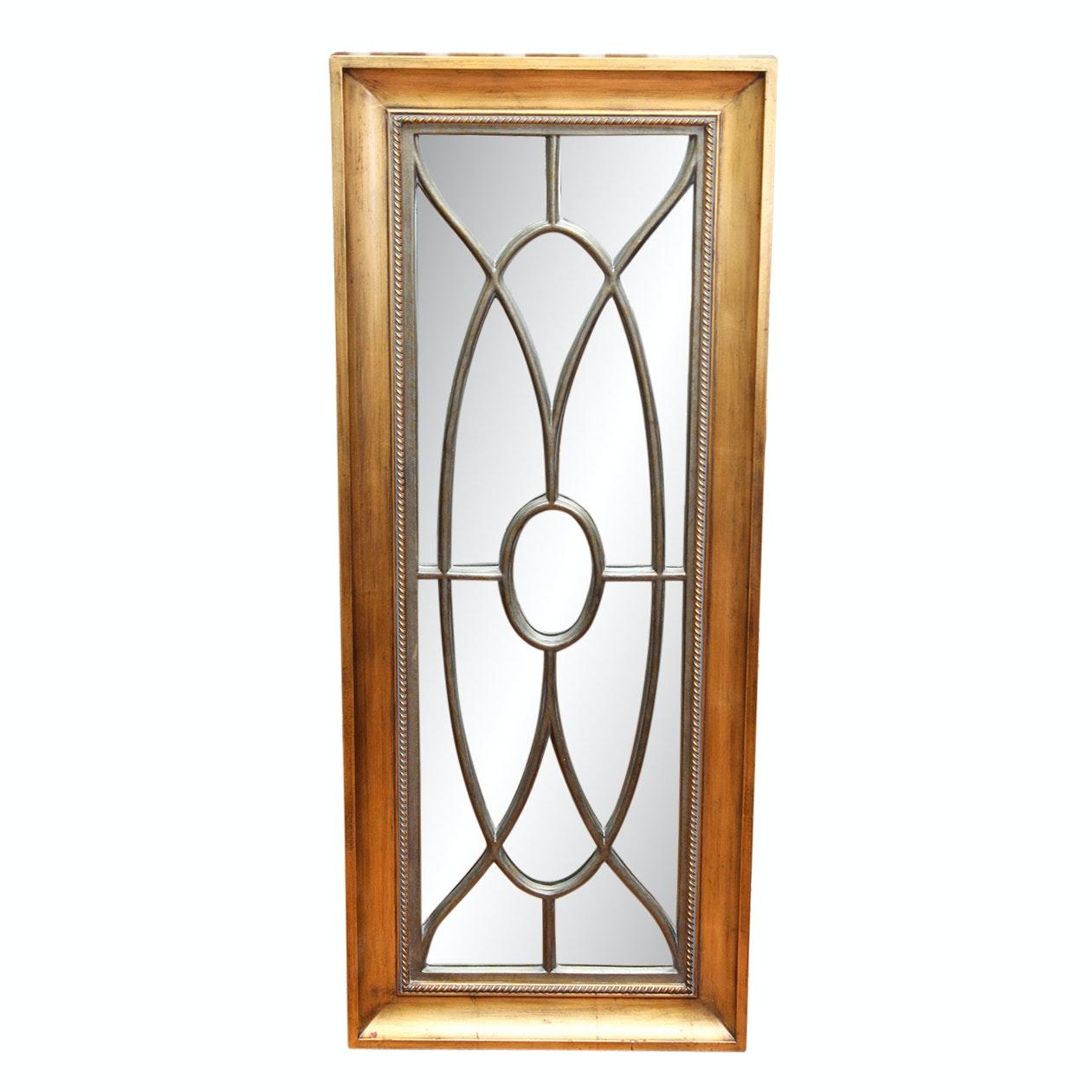 Three Framed Panel Wall Mirrors