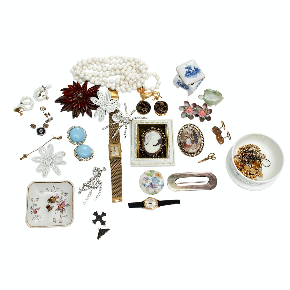 Vintage Jewelry and Trinket Boxes