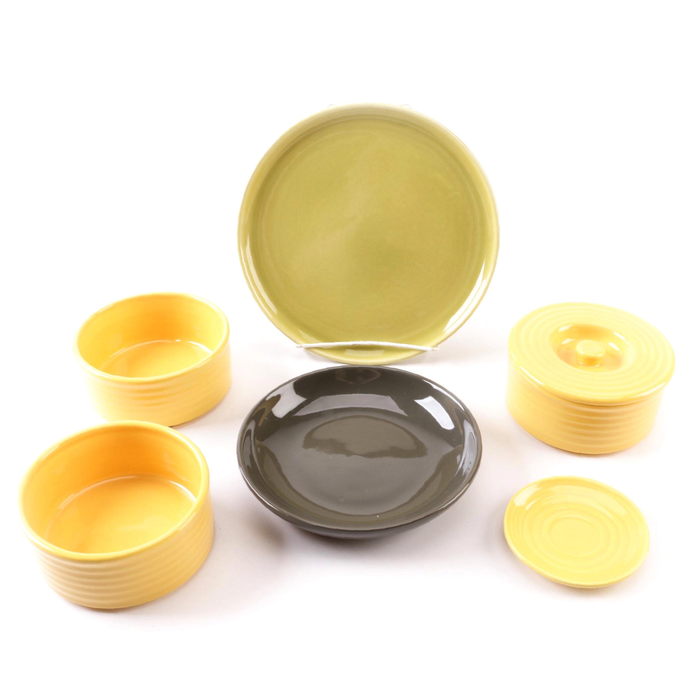 Russel Wright for Bauer Pottery Co. Ceramic Tableware
