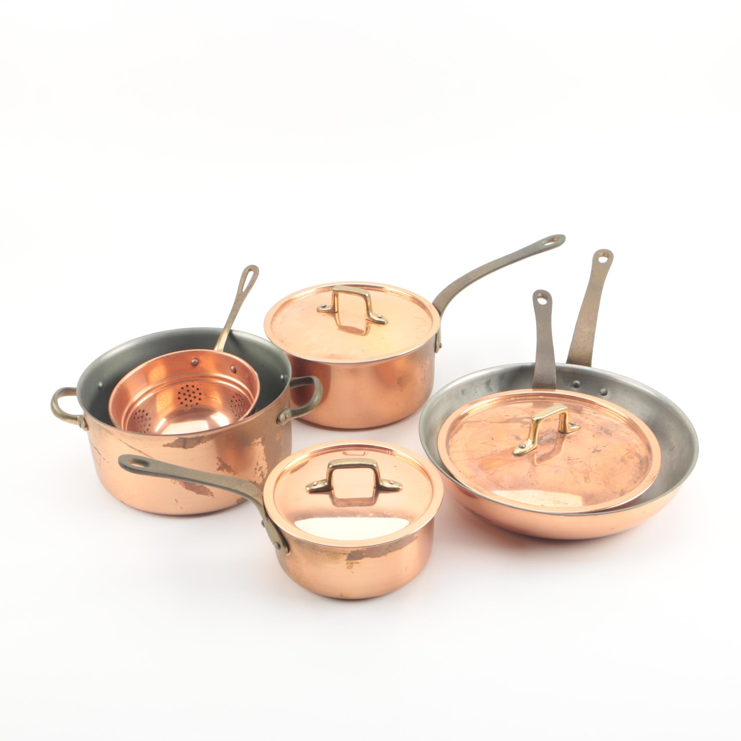 Vintage and Contemporary Copper Cookware
