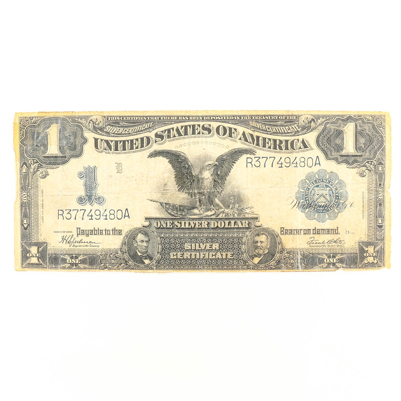 Series of 1899 $1 United States Silver Certificate