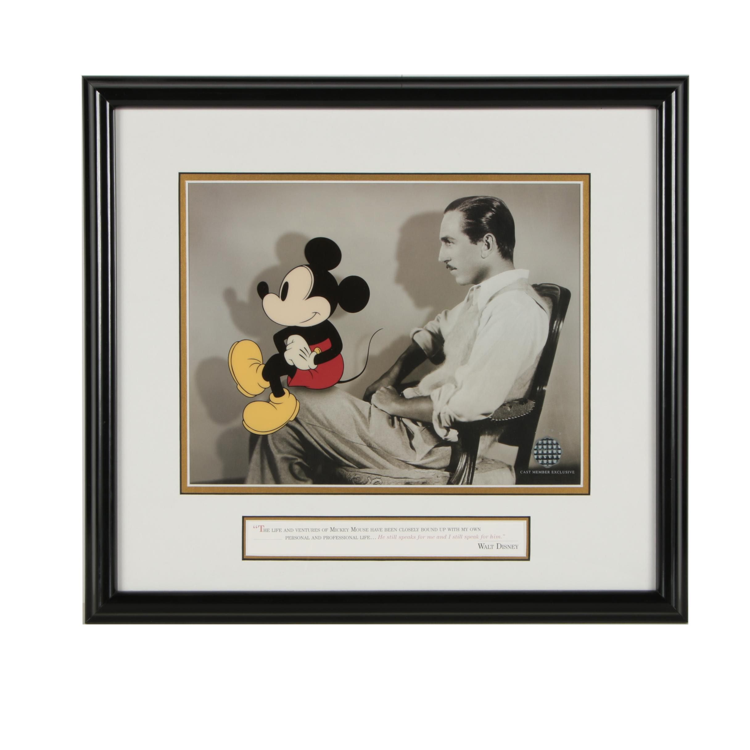 "1999 Limited Edition Disney Sericel ""Profiles of Imagination"""