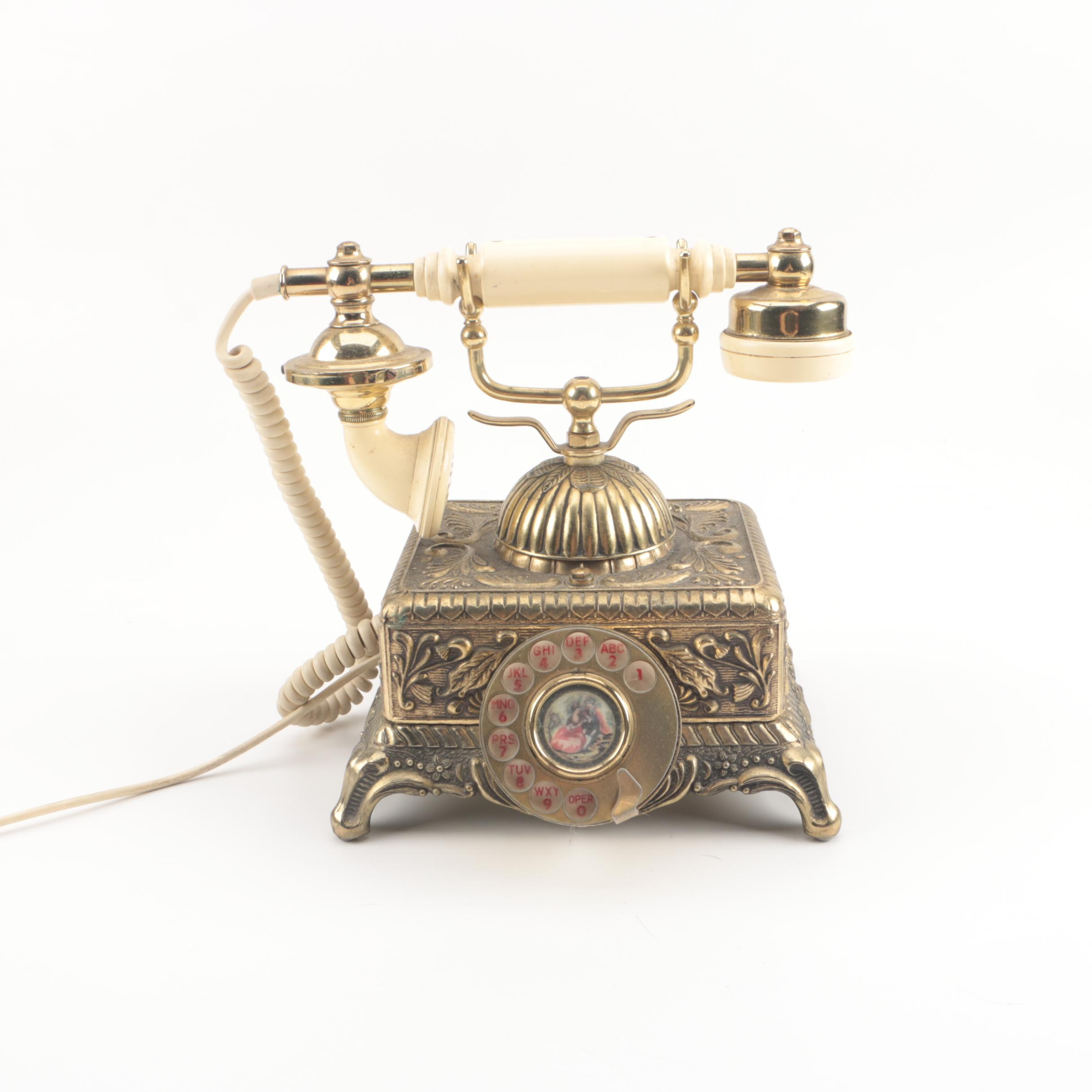 Vintage Victorian Style Imperial Telephone