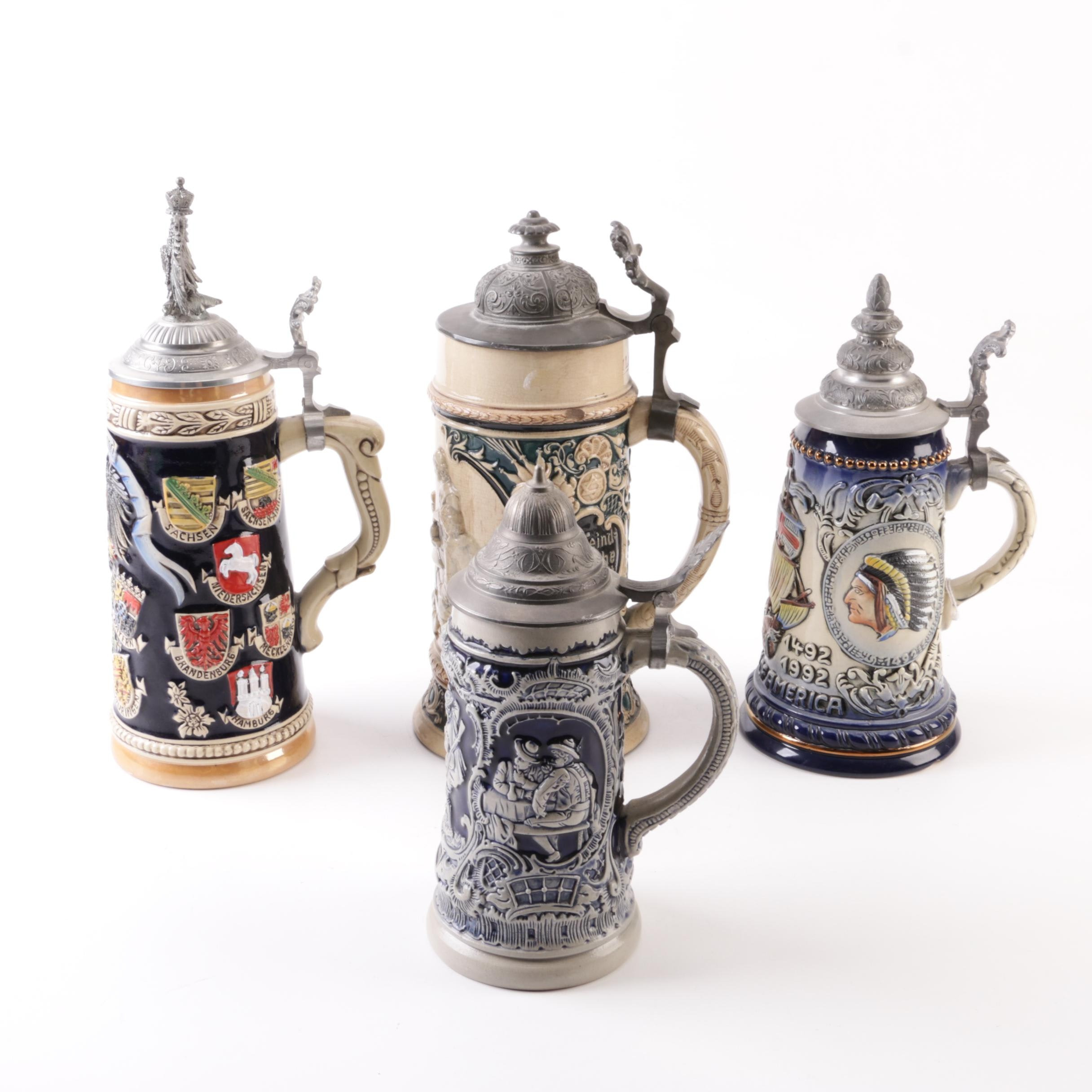 Zöller & Born and King Beer Steins and Others