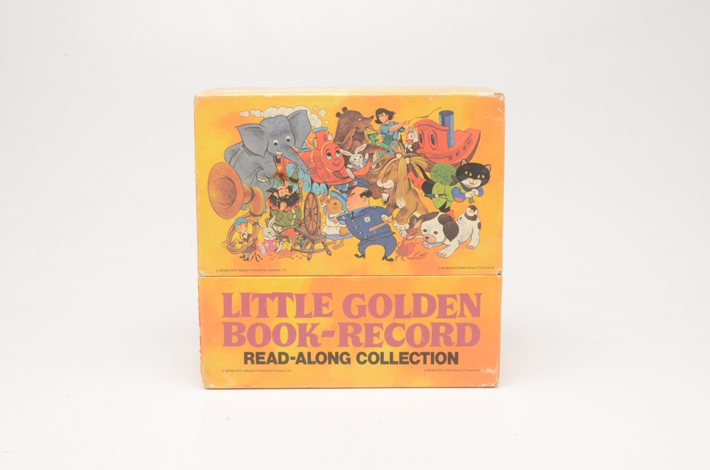 Little Golden Book-Record Read Along Collection