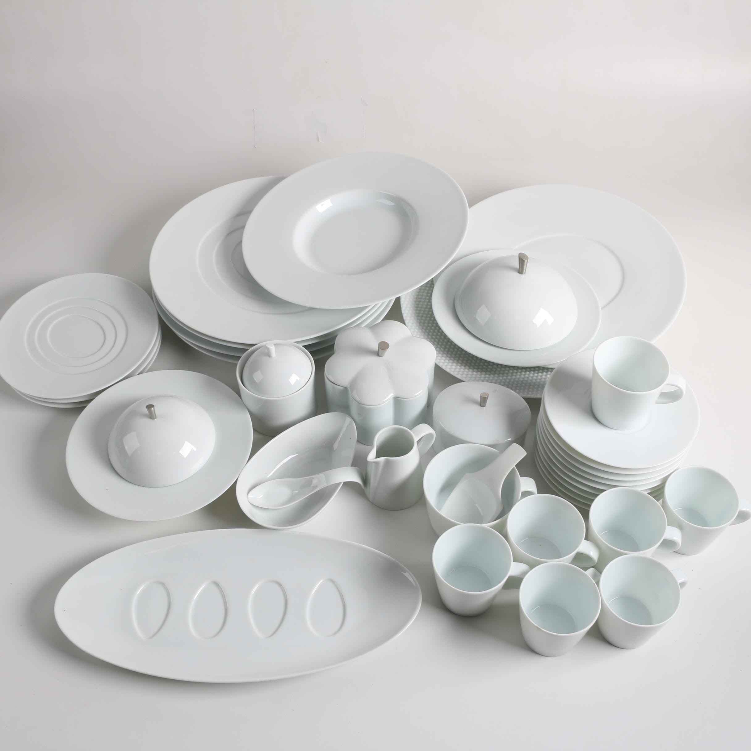 """Raynaud Limoges """"Hommage Collection"""" by Thomas Keller Porcelain Dinnerware"""