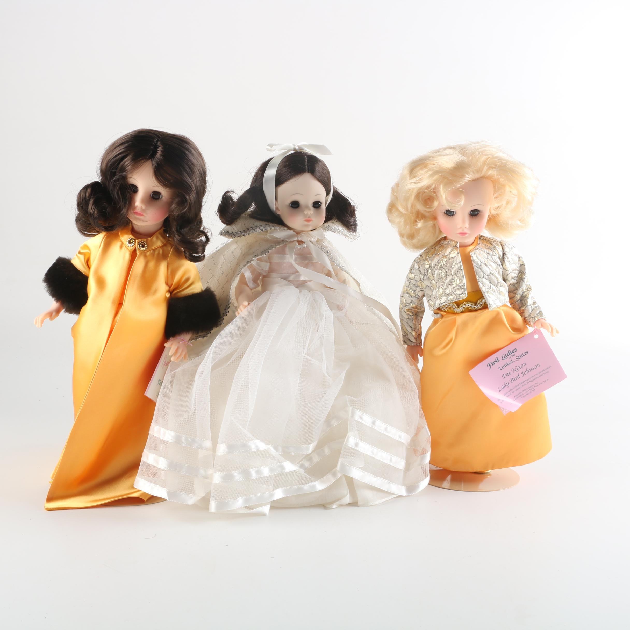 """Madame Alexander Dolls Featuring """"First Ladies"""" and """"Snow White"""""""