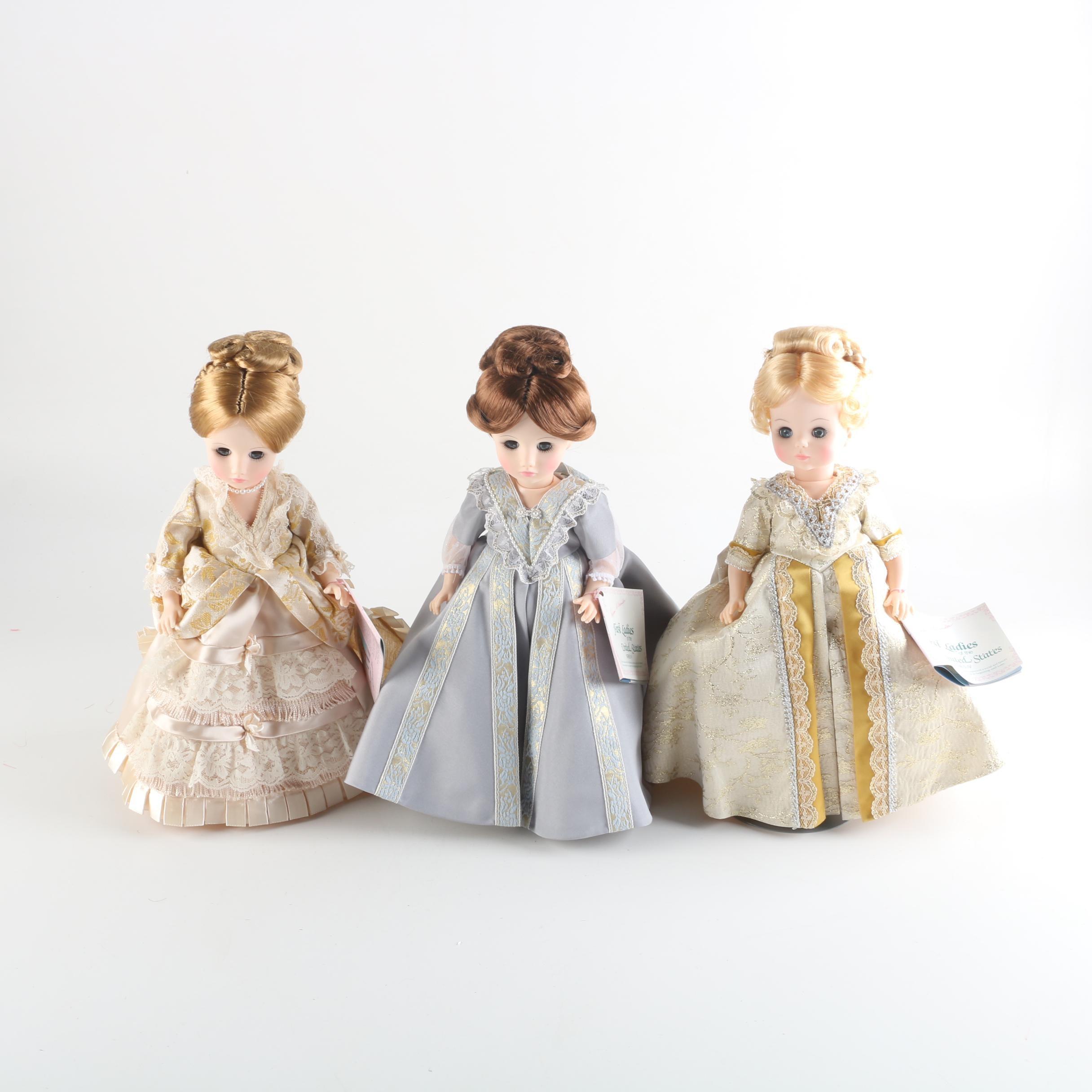 """Vintage Madame Alexander """"First Ladies"""" Series IV"""