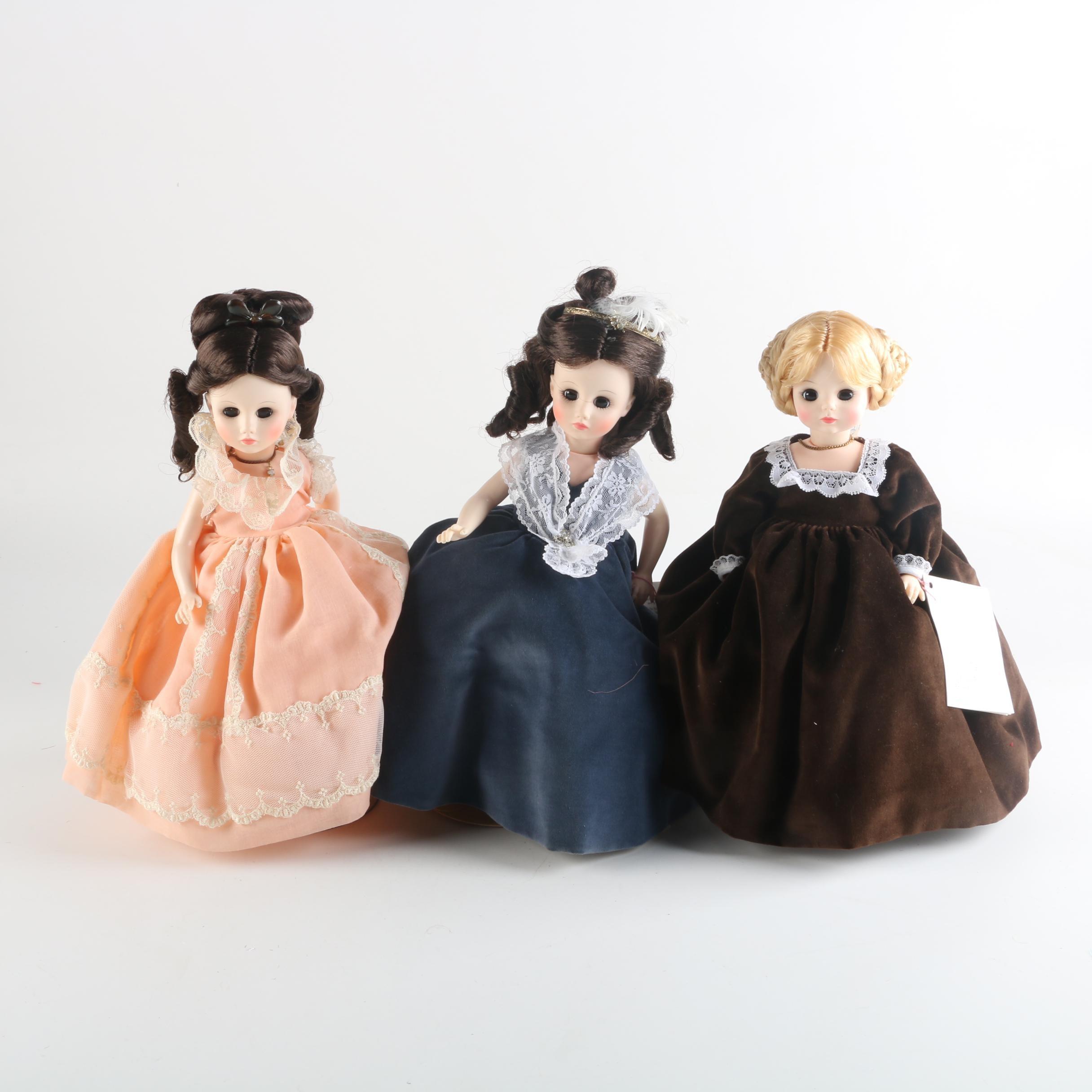 """Vintage Madame Alexander """"First Ladies"""" Series II"""