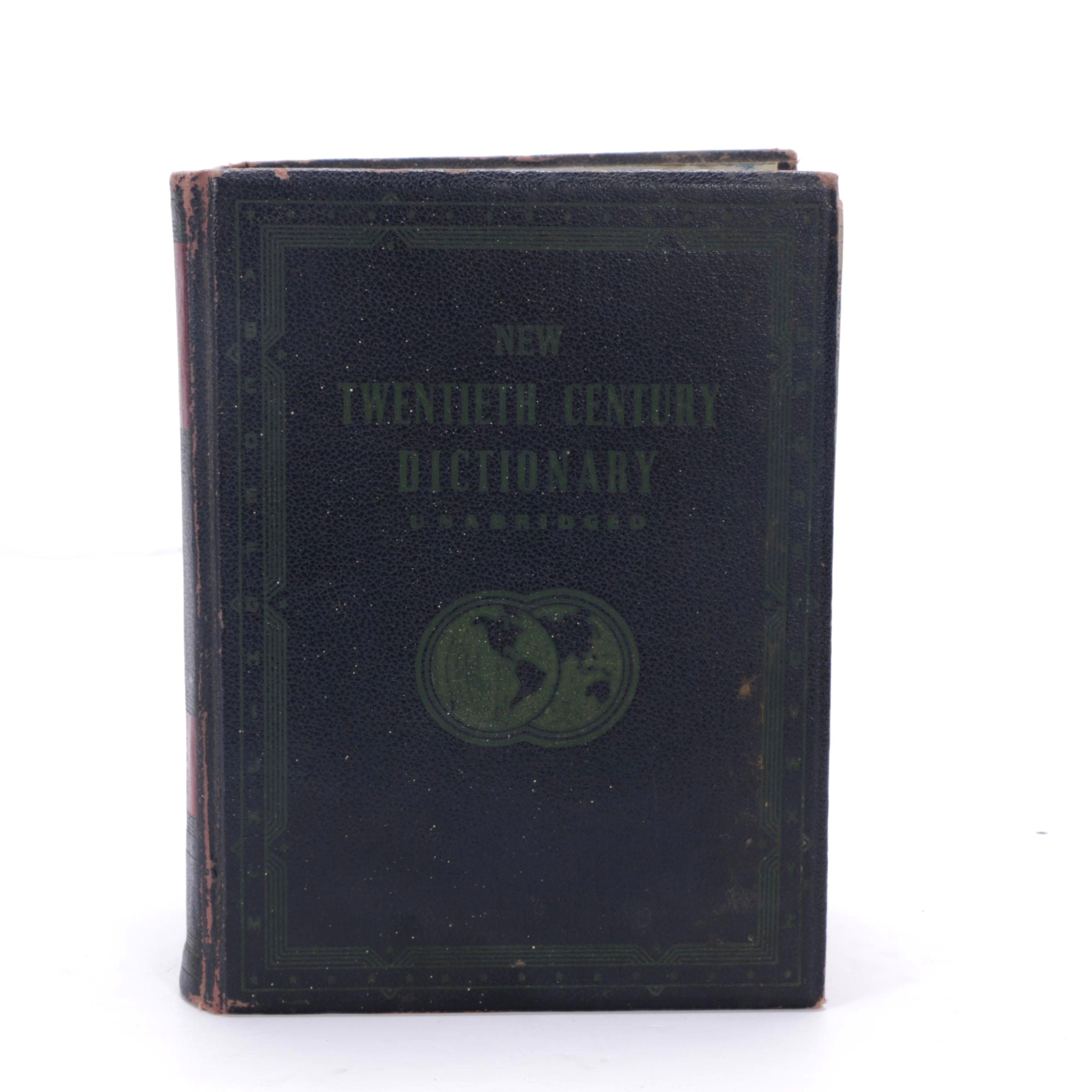 "1941 ""New Twentieth Century Dictionary Unabridged"""