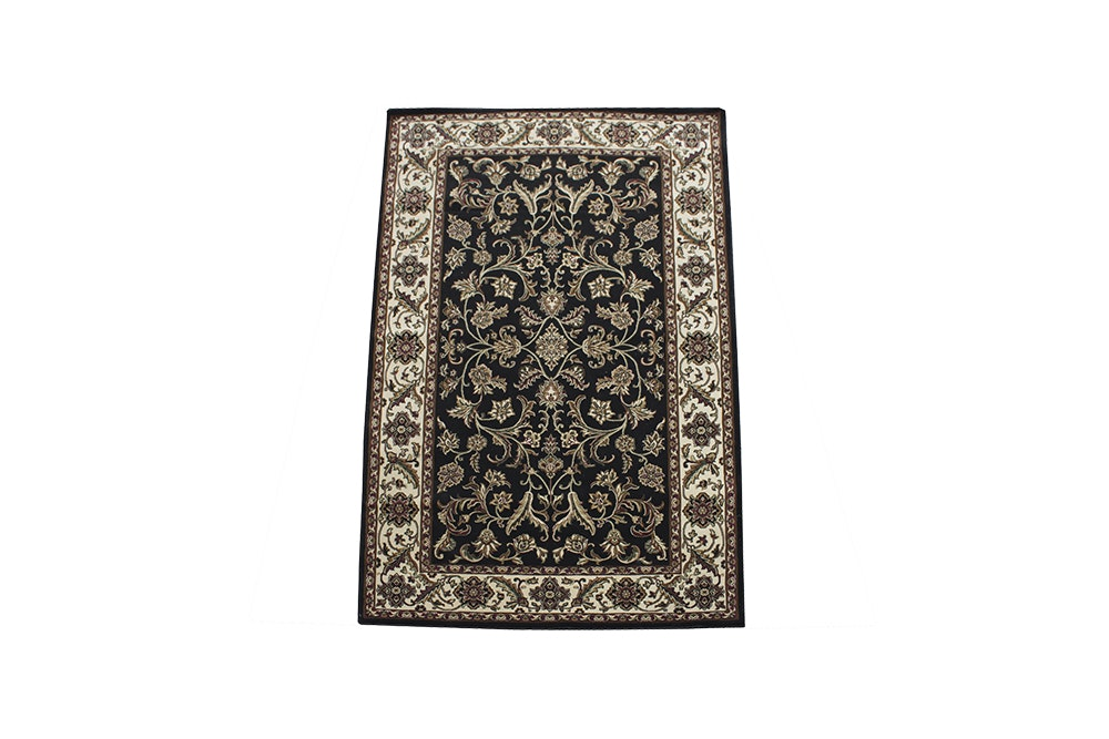 Power-Loomed Indian Agra-Style Area Rug