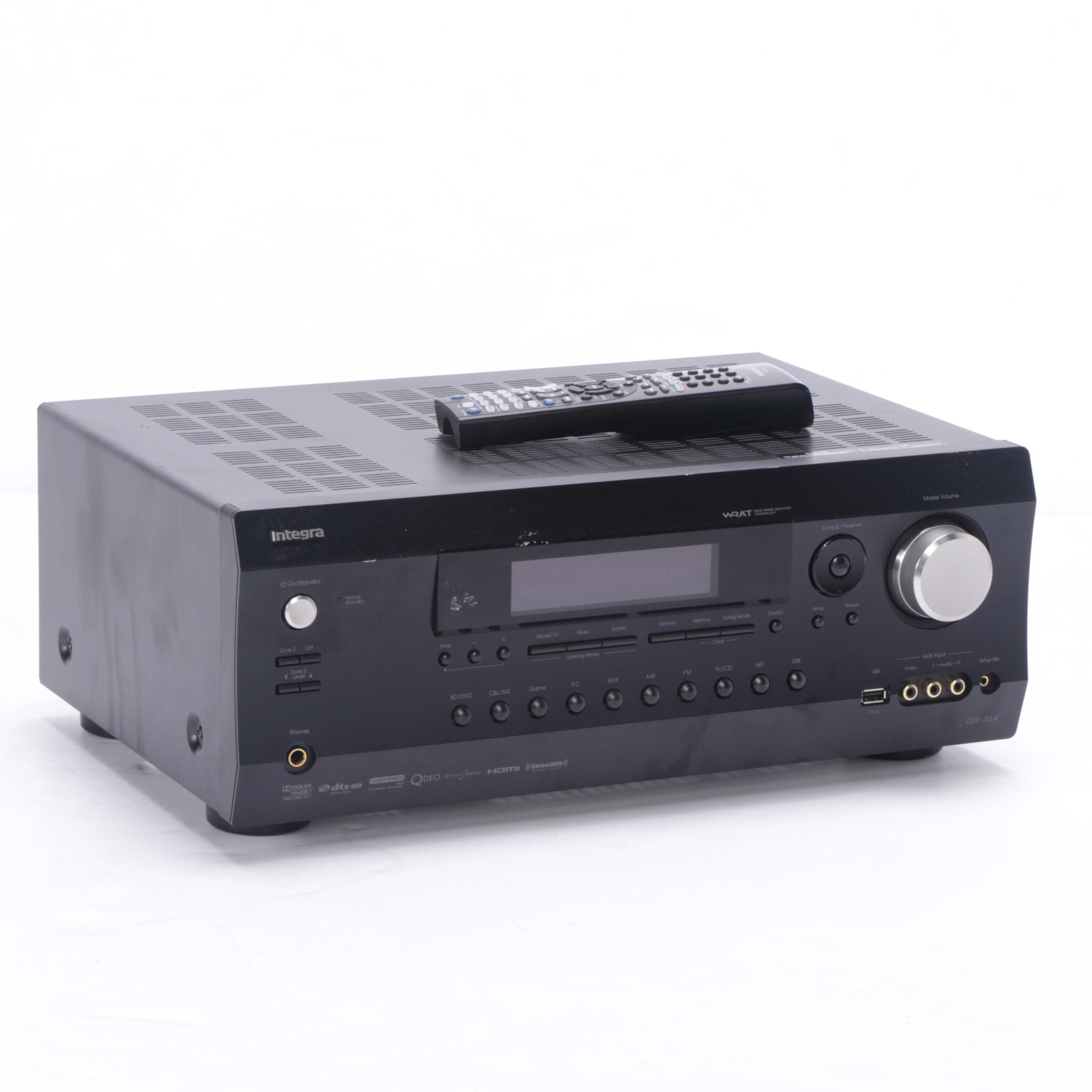 Integra DTR-20.4 Home Theater AV Receiver with Remote