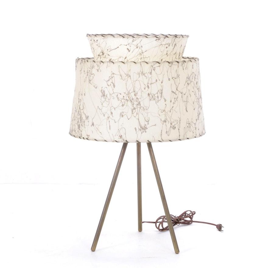 Pleasing Mid Century Modern Tri Pod Table Lamp Download Free Architecture Designs Scobabritishbridgeorg