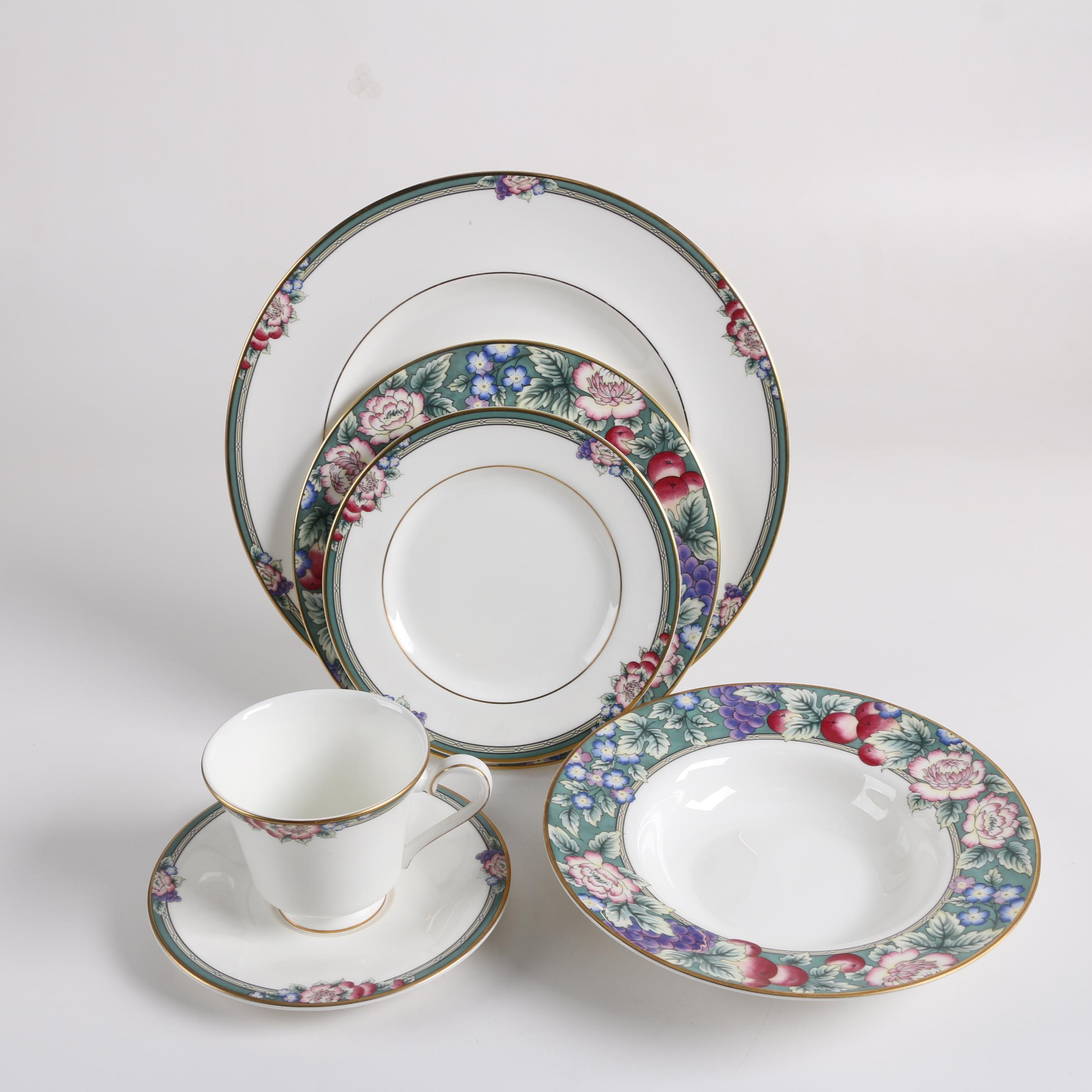 "Royal Doulton ""Orchard Hill"" Bone China Place Setting"