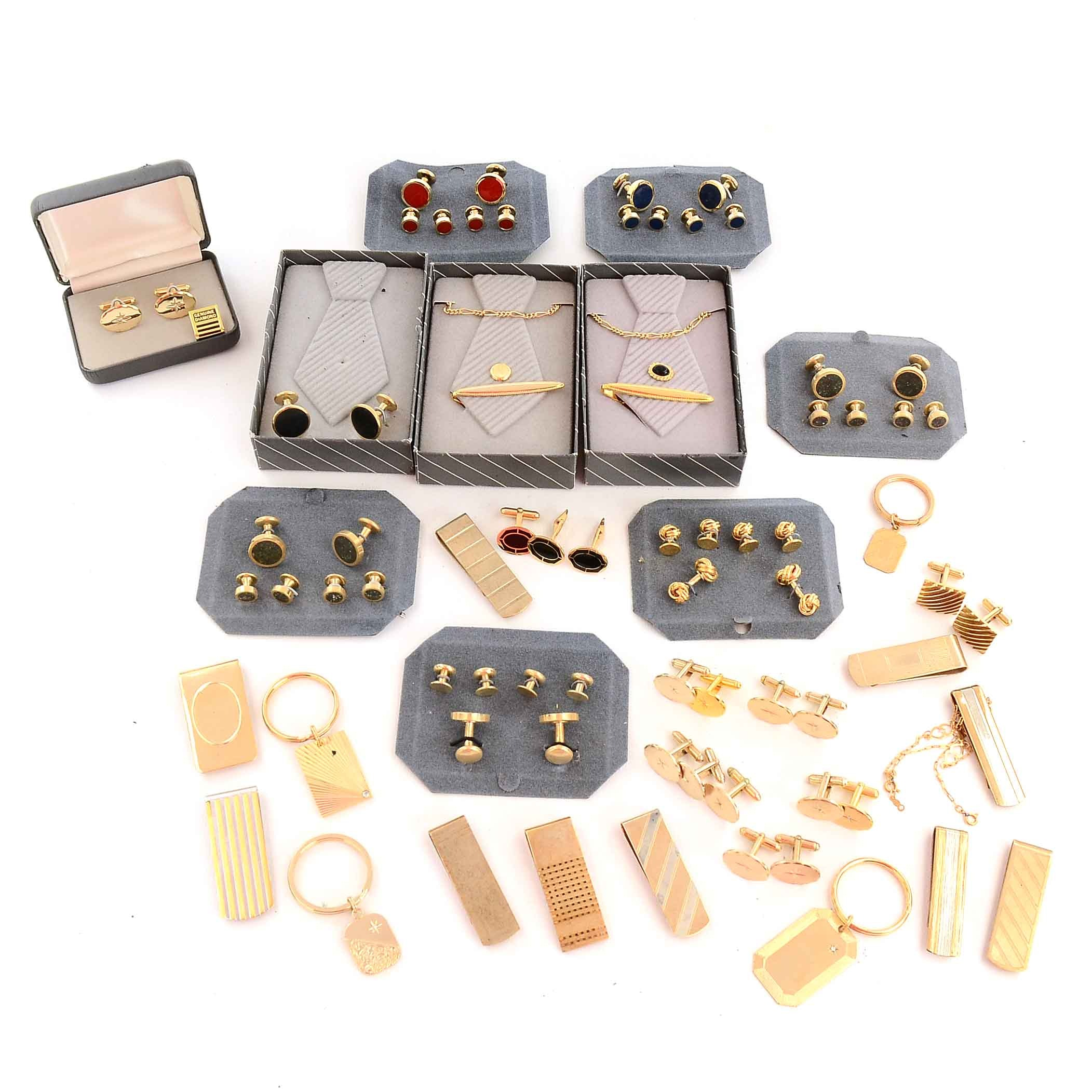 Selection of Gold-Tone Jewelry