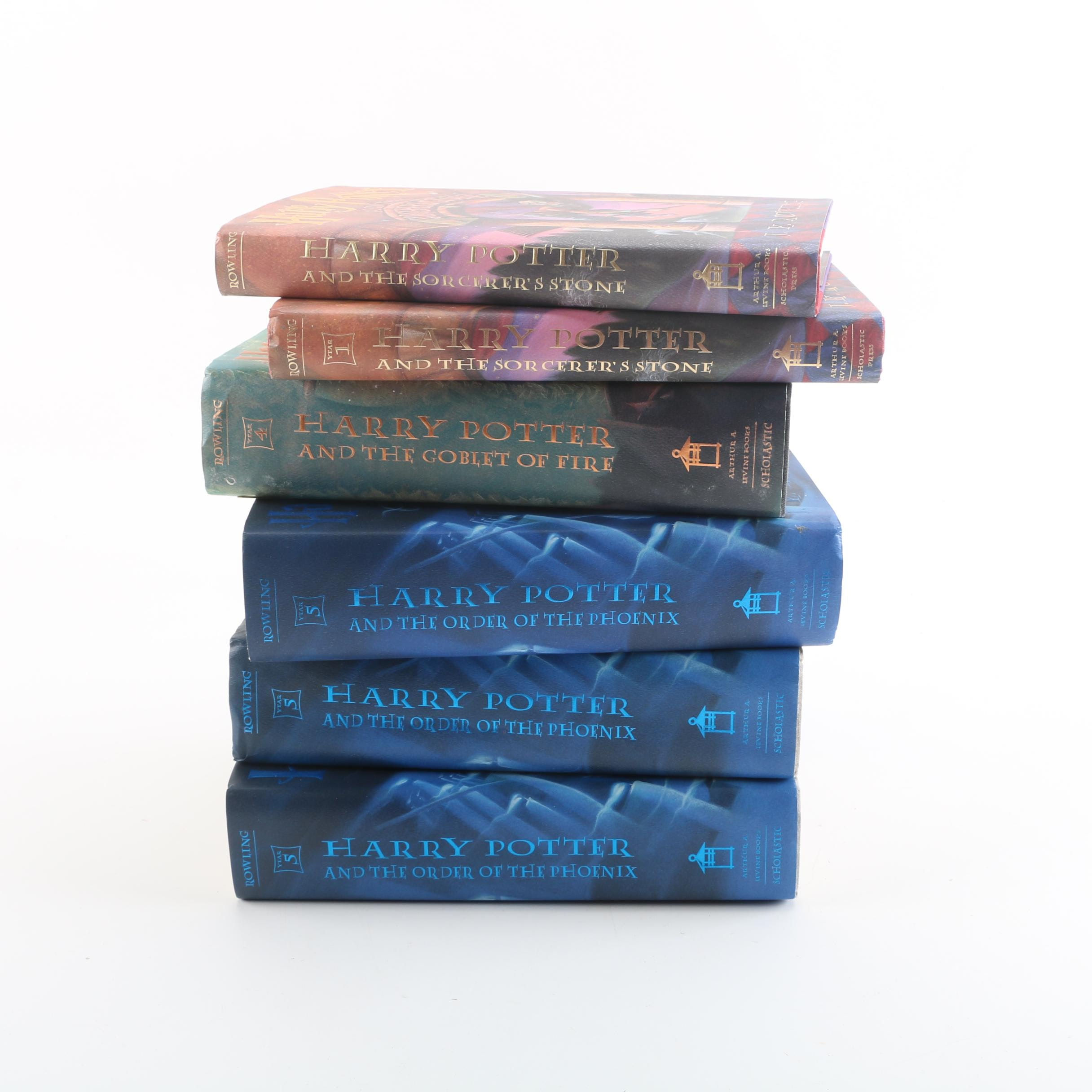 "First American Editions of ""Order of the Phoenix"" and Other ""Harry Potter"" Books"