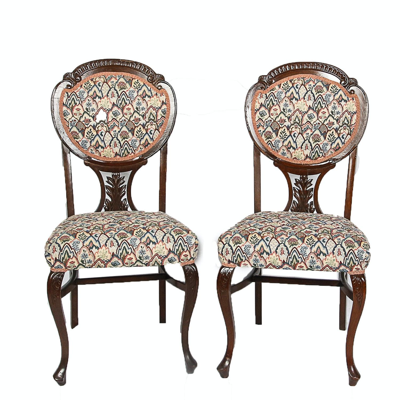 Art Nouveau Style Parlor Chairs