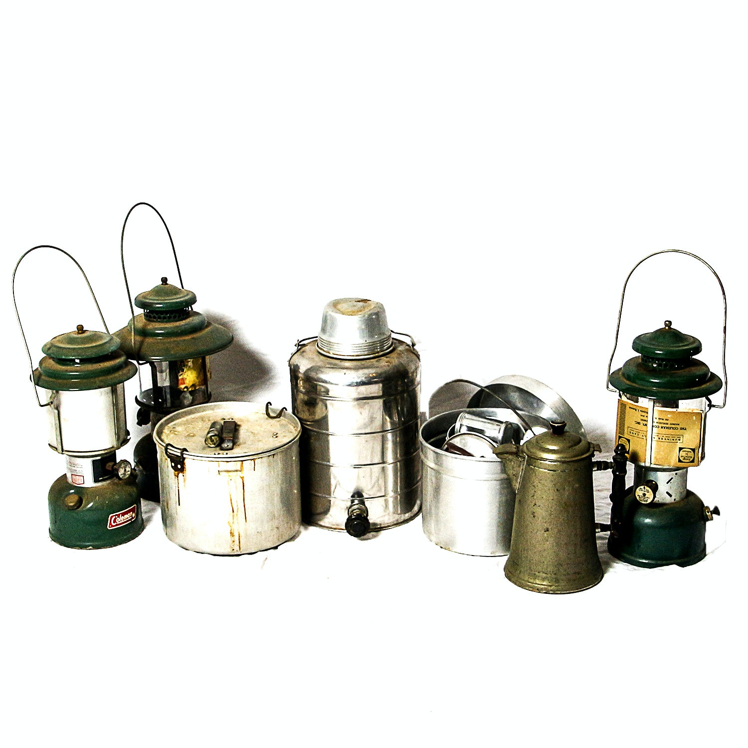 Coleman Lanterns and Other Camping Gear