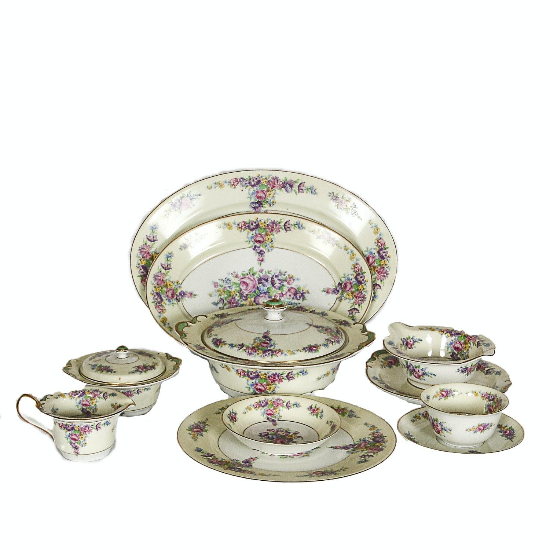 Vintage Floral Porcelain Tableware