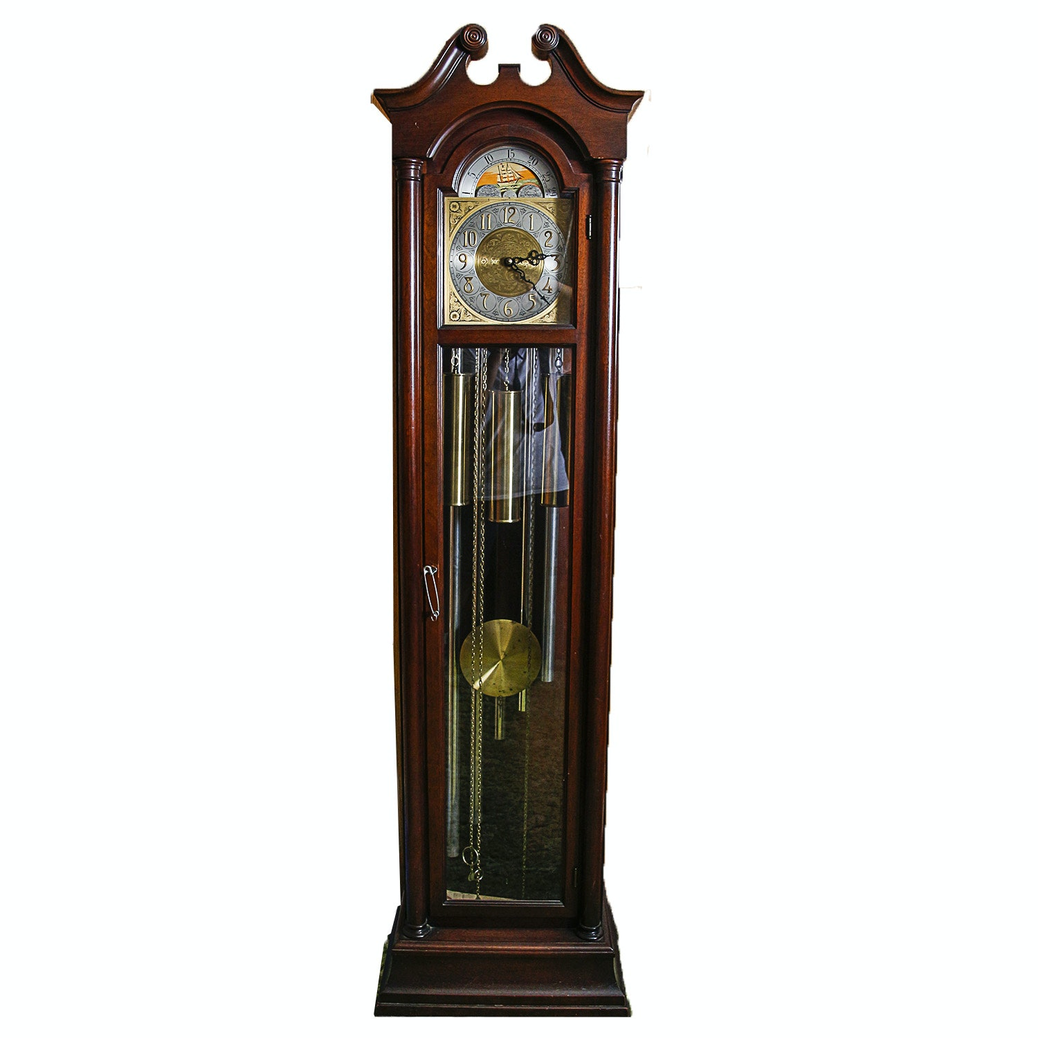 Chippendale Style Grandfather Clock by Colonial Manufacturing Co.