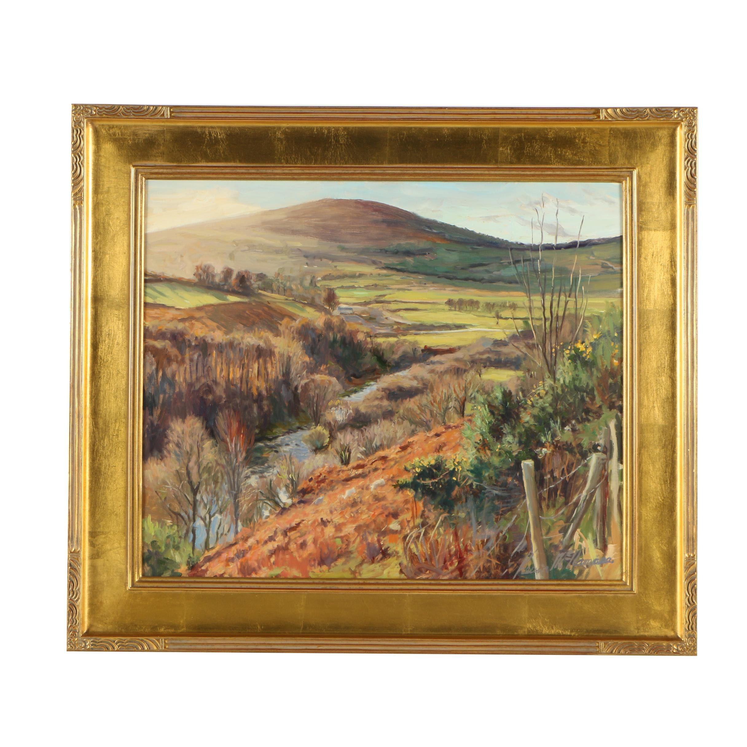 Kevin Noel McNamara Oil Landscape Painting
