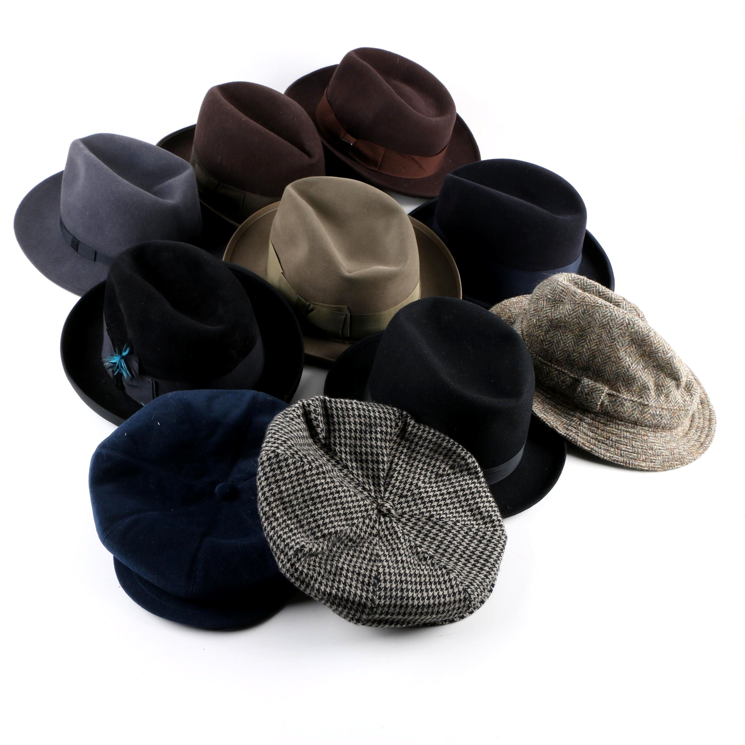 Men's Fedora and Newsboy Hats