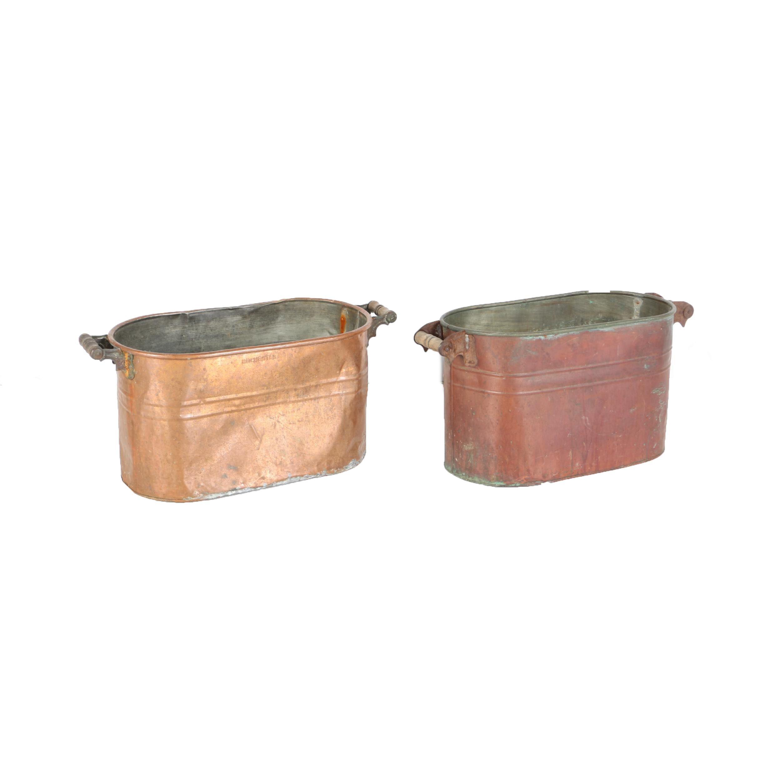 Vintage Copper Boilers