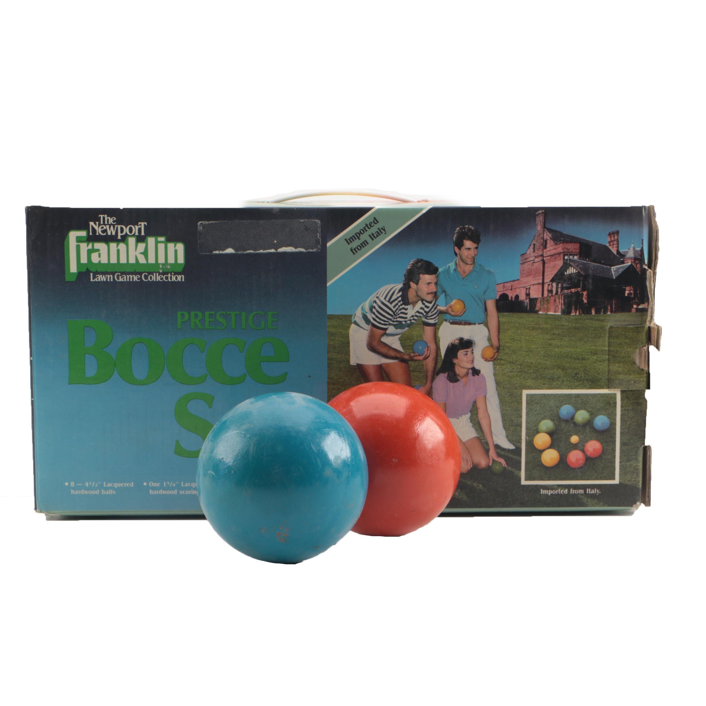 Franklin Bocce Lawn Set