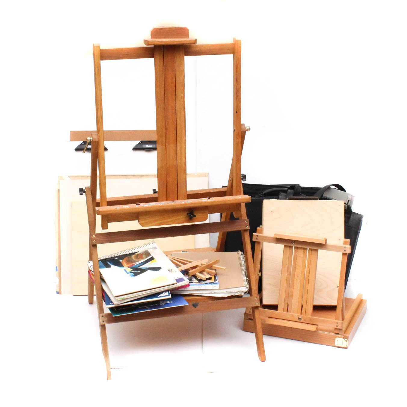 Portable Easels and Art Supplies